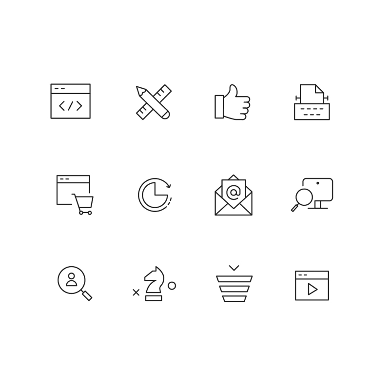Tilda Icons - 700+ icons for your landing pages.