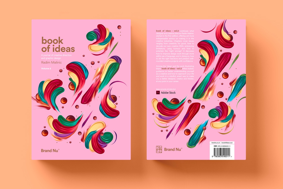 Book of Ideas: Volume 2 - Continuing what designer and creative director Radim Malinic started in the first edition, offering yet more indispensable advice on making it in the creative industries. A must read!