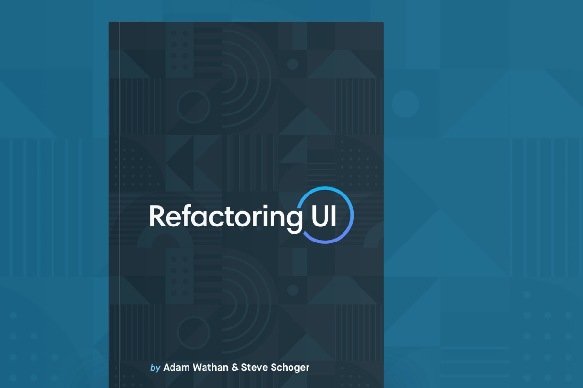 Refactoring UI: The Book - I've always enjoyed Steve's UI tips, and he's just released his first book alongside Adam Wathan. Learn how to design beautiful user interfaces by yourself using specific tactics explained from a developer's point-of-view.