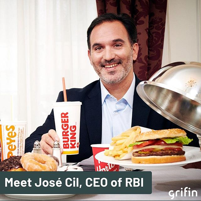 Meet the man who brought you the #impossiblewhopper.  As CEO of RBI, Josè Cil leads some of your favorite fast food chains, including @burgerking, @timhortons and @popeyeslouisianakitchen.  Restaurant Brands International is a conglomerate: a combination of multiple business entities operating in entirely different industries under one corporate group.  NYSE: QSR  #brandambassadorswanted #brandambassadorsearch #brandrepsearch #ambassadorsearch #ambassadorswanted #betatesterswanted #betatester #joinourteam #investing #invest #investor #finance #financeapp #fintech #startup #startuplife #nyse #sp500 #stockmarket #growth #conglomerate #rbi #qsr #burgerking #popeyes #timhortons