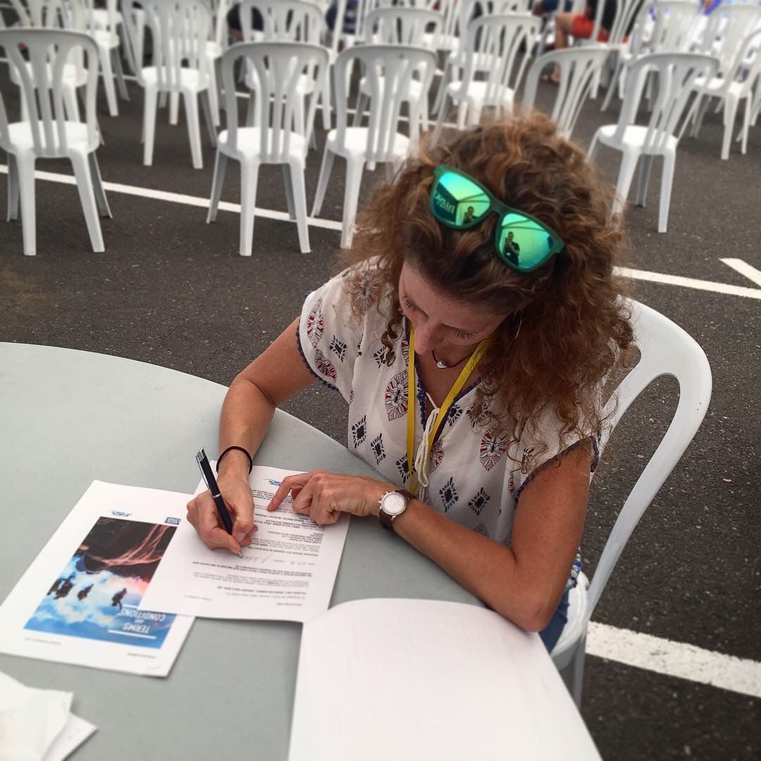 Signing up for TWAC19