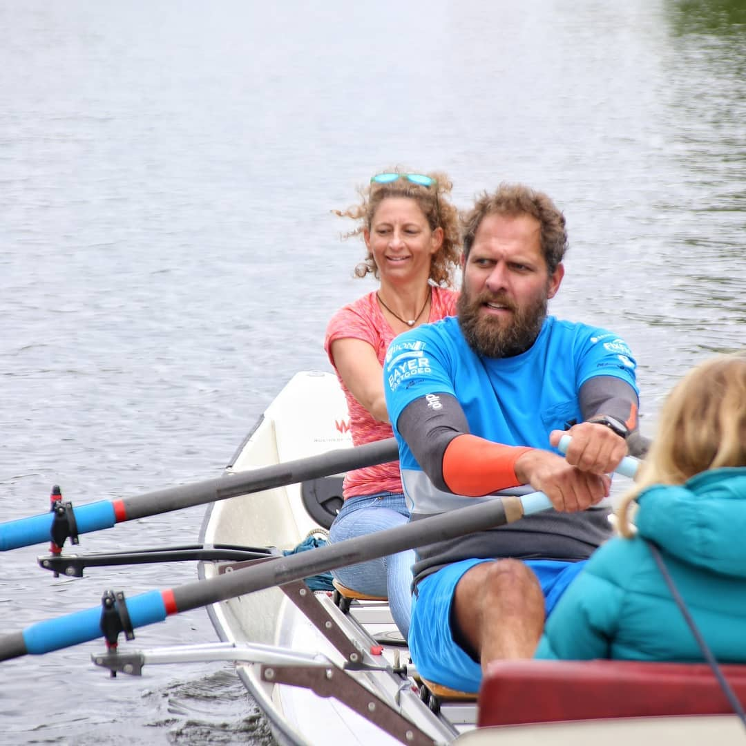 Rowing with Mark