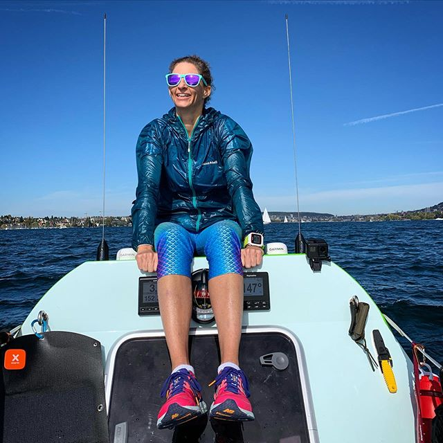 This is a very good place when headwinds hit Lake Zurich. On an ocean rowing boat, enjoying the ride. Thanks for the day and the 📷, @teamatventure . #oceanrowing #training #skills #teamwork #helpingout #headwinds #withasmile #sunnyday #twac2019 #theswiss1s #strongertogether #allone #fortheoceans #fortheheart #3000miles #milebymile #madebythesea