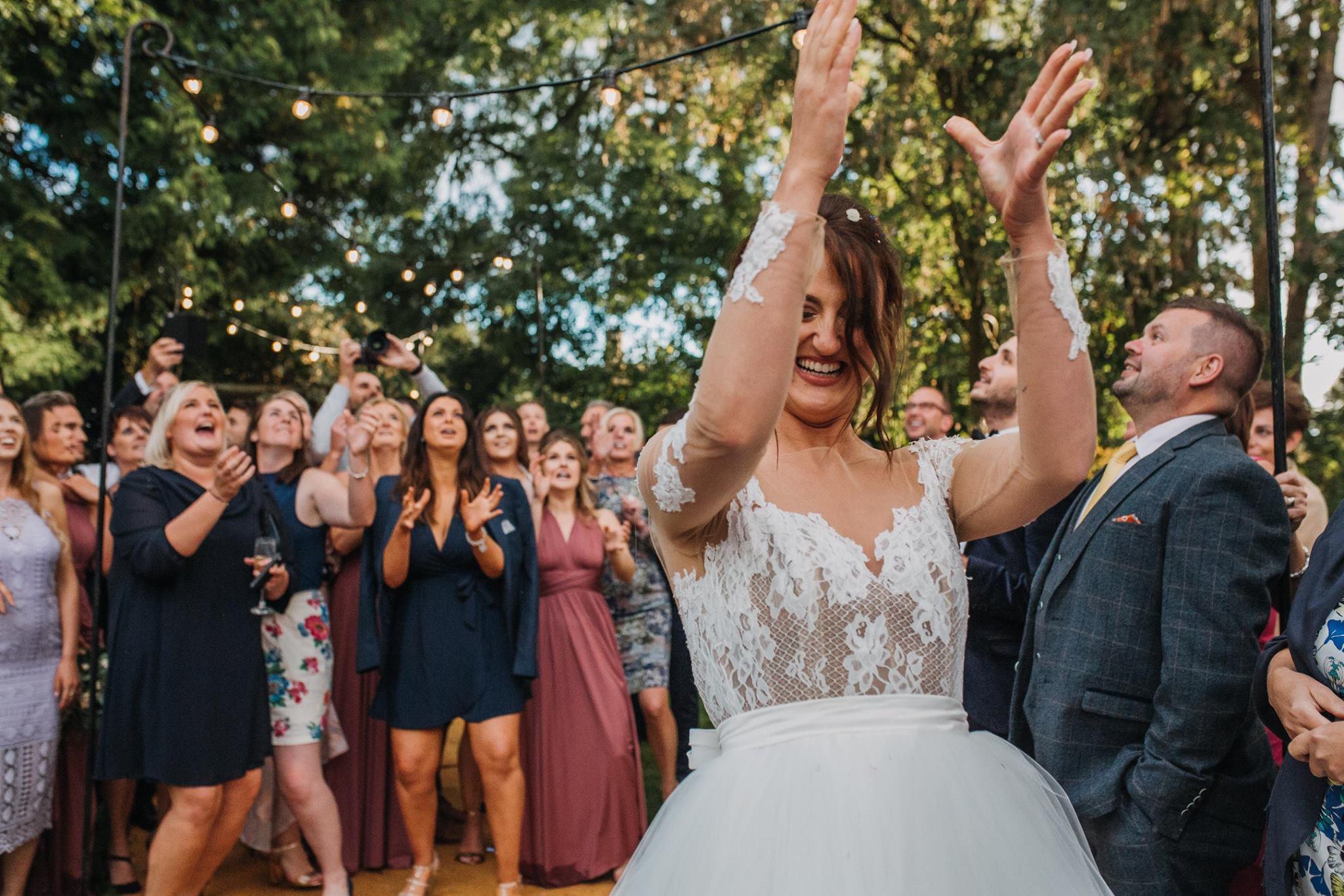 Sheffield Yorkshire Documentary Wedding Photographer Tipi