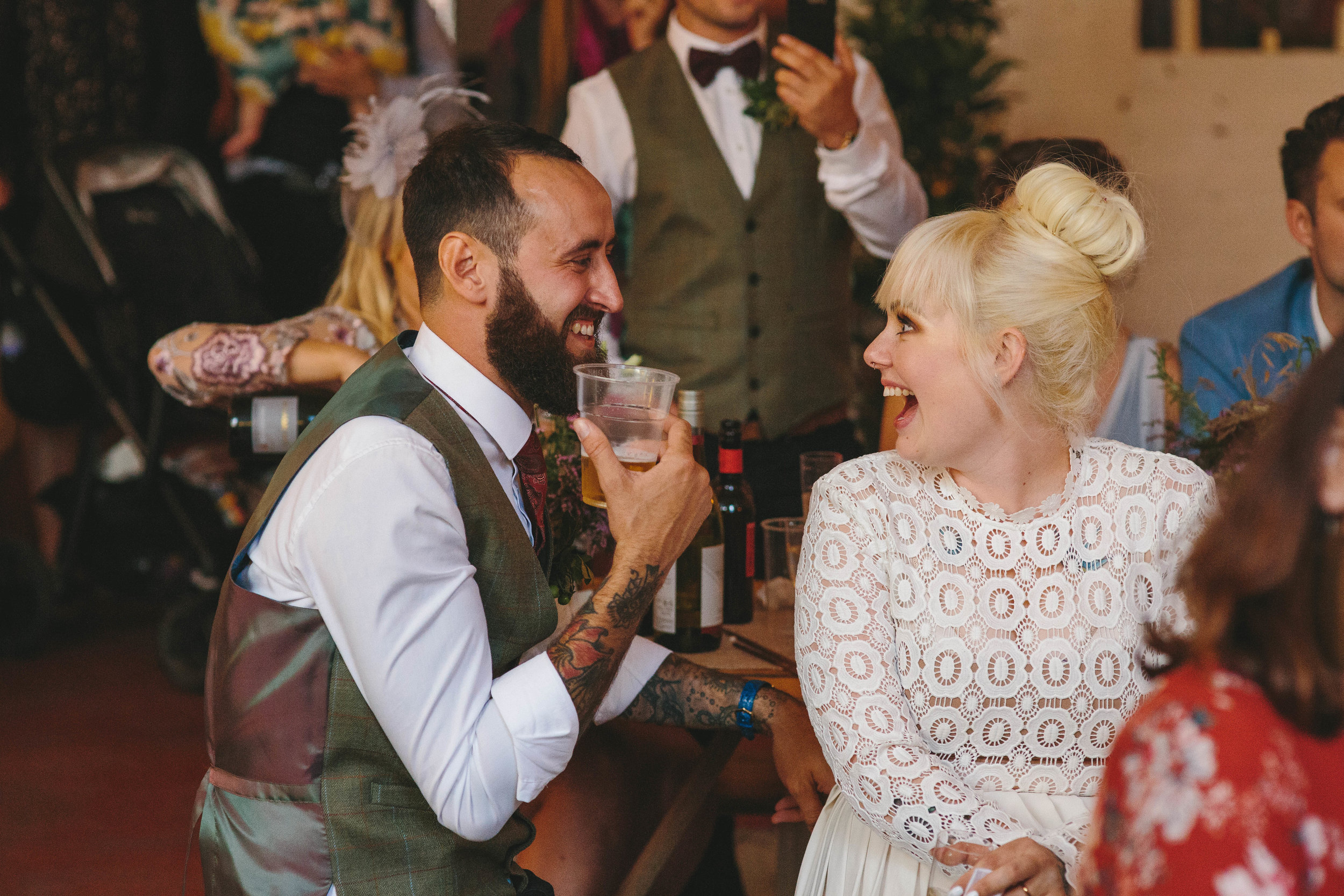 Sheffield Yorkshire Documentary Wedding Photographer The Hide