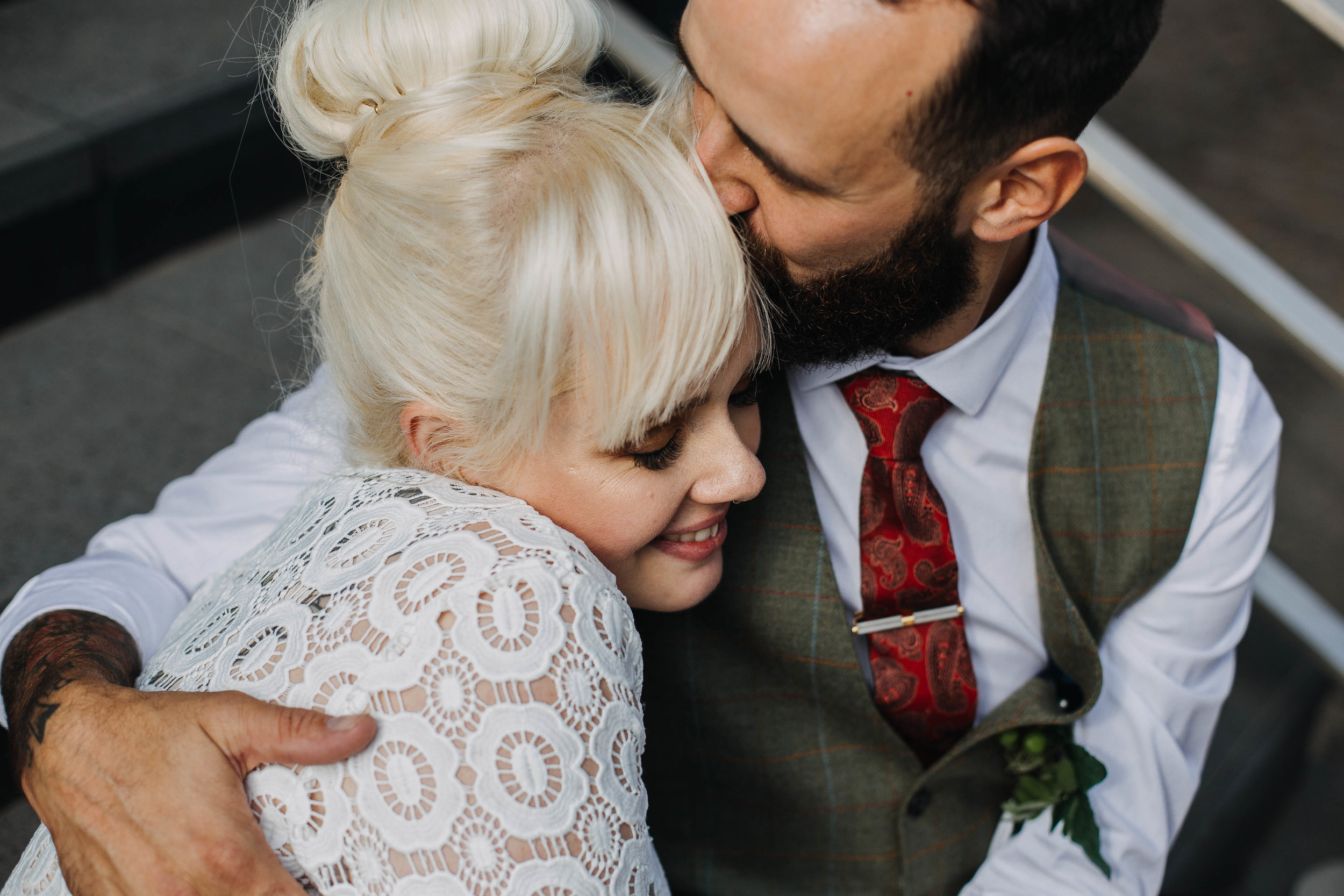 Sheffield Yorkshire Documentary Wedding Photographer The hide