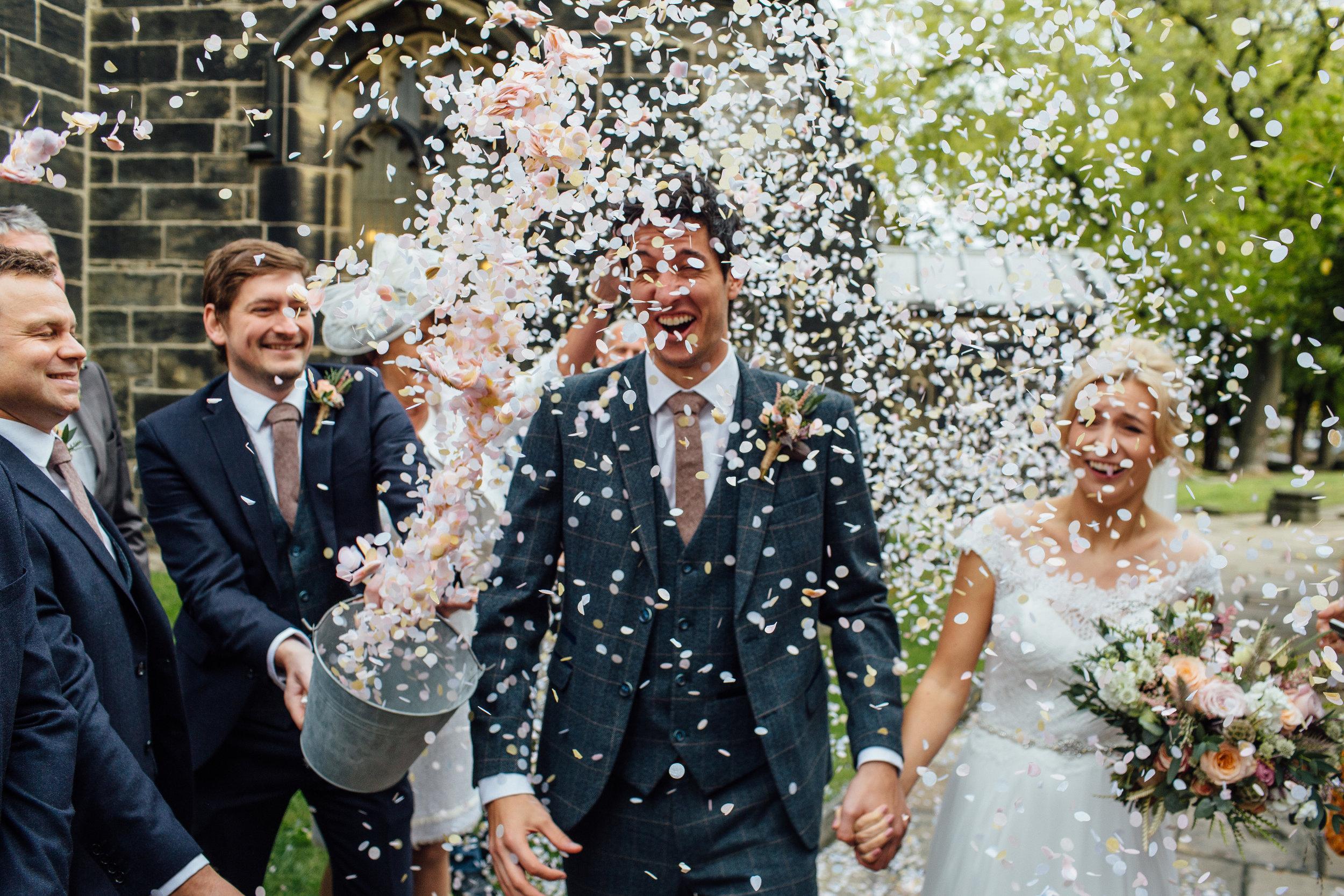 Sheffield Yorkshire Documentary Wedding Photographer Cubley Hall