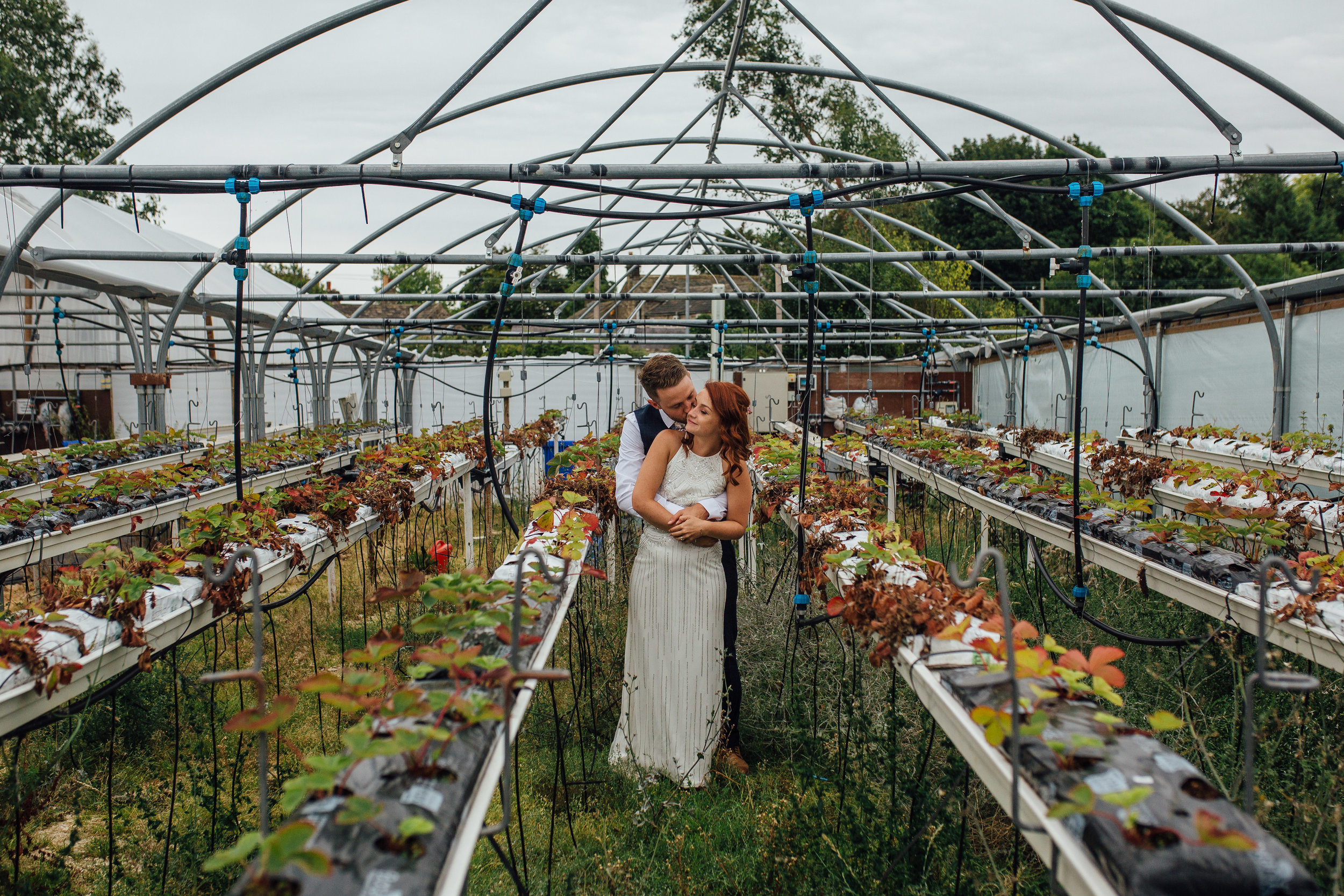 Sheffield Yorkshire Documentary Wedding Photographer Whirlow Hall Farm