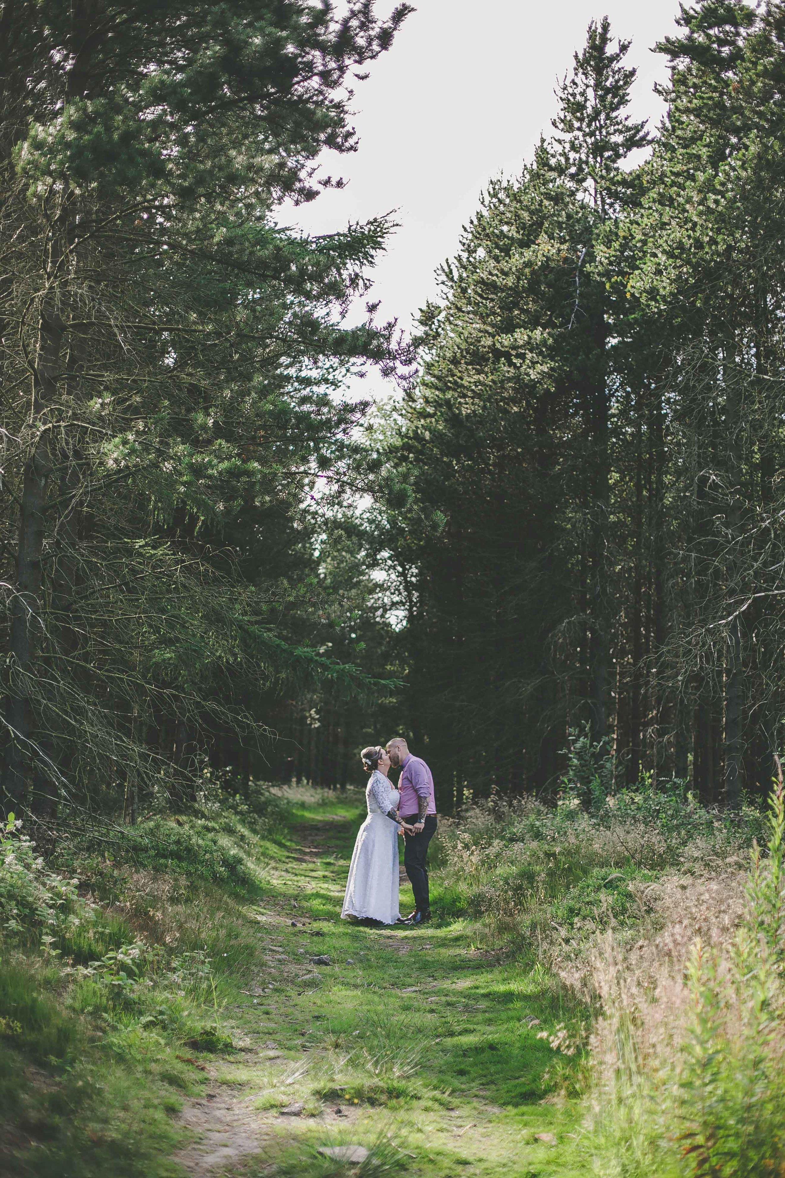 Retro Wedding at Hagglers Corner Sheffield