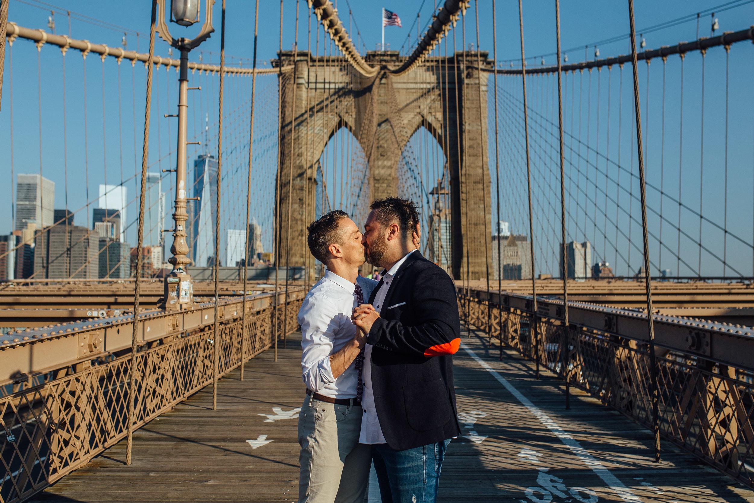 Brooklyn Heights New York Engagement Wedding Photographer