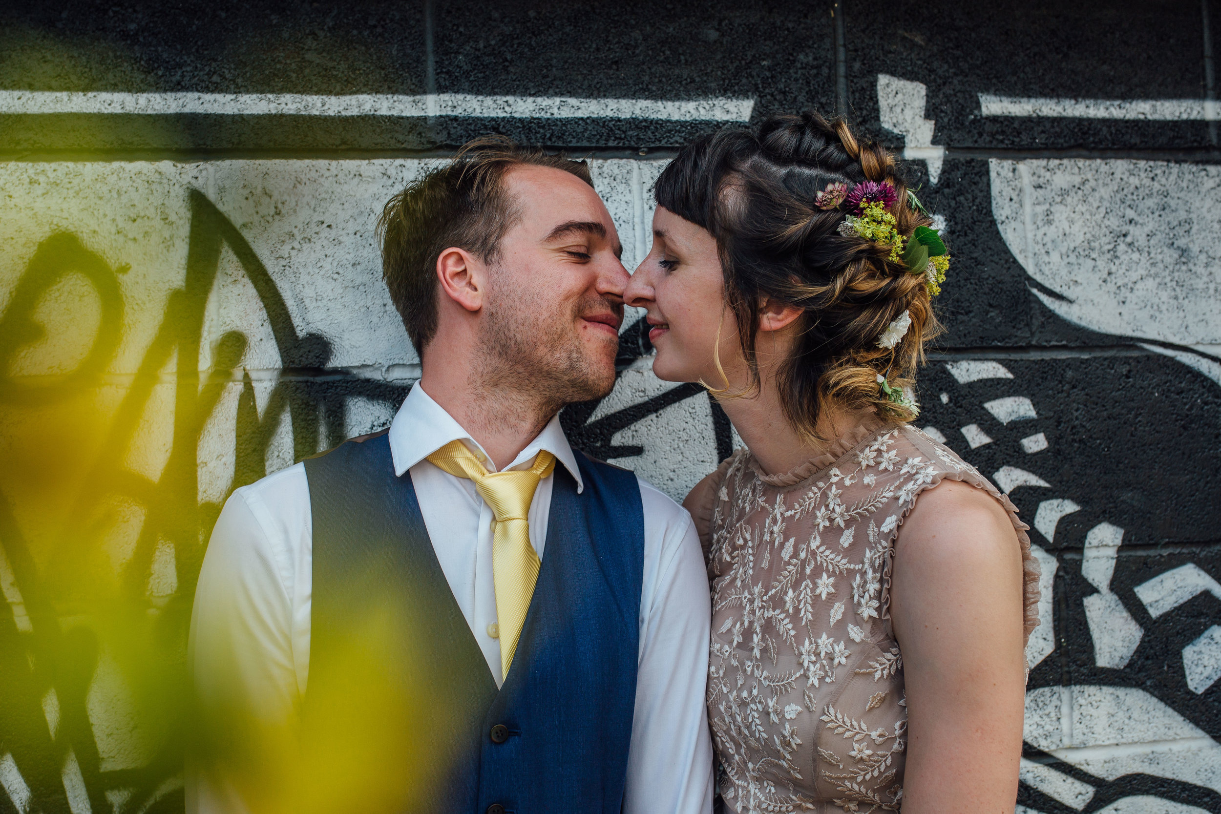 99 Mary Street Urban Wedding Sheffield