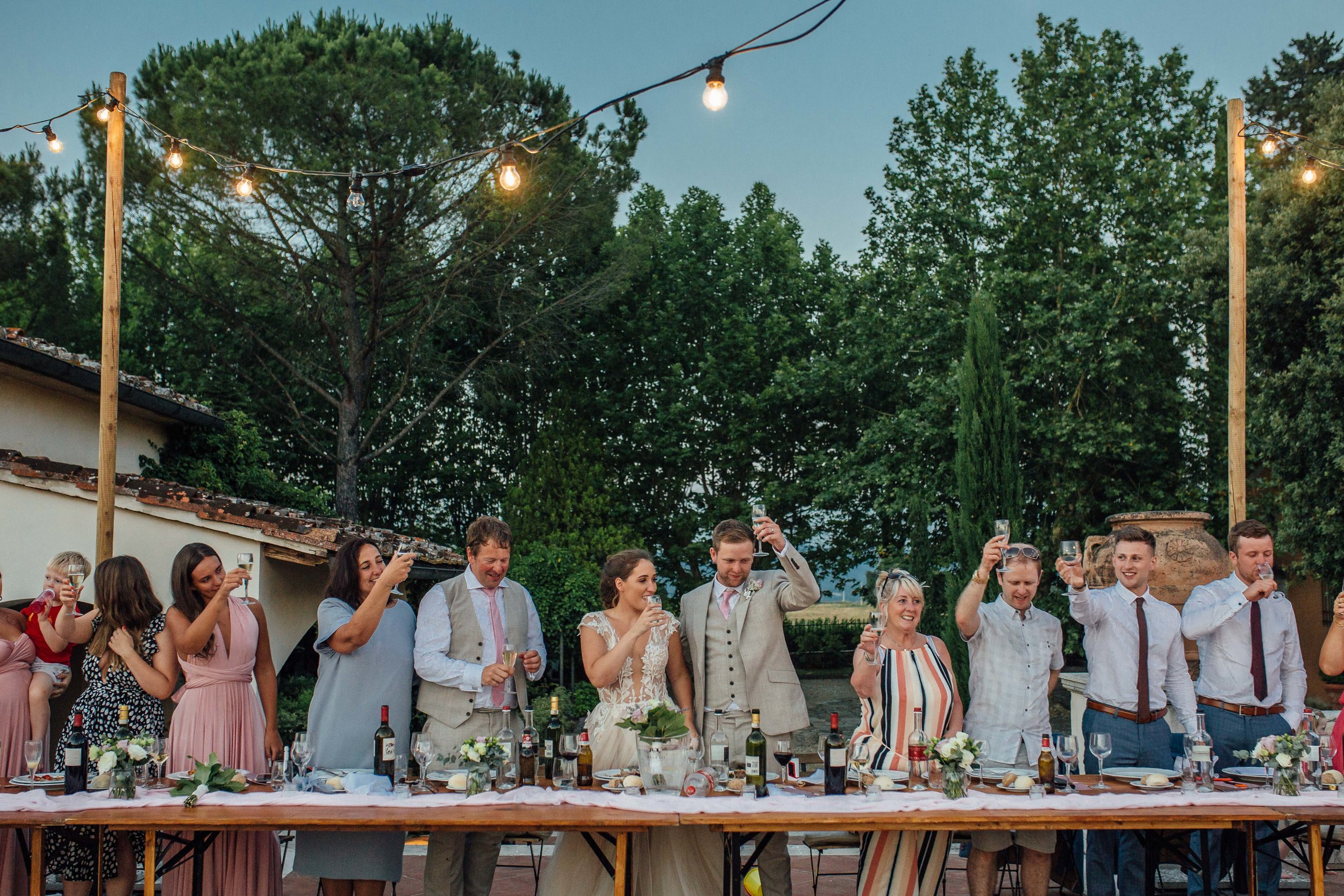 Villa La Selva Destination Wedding Siena Italy