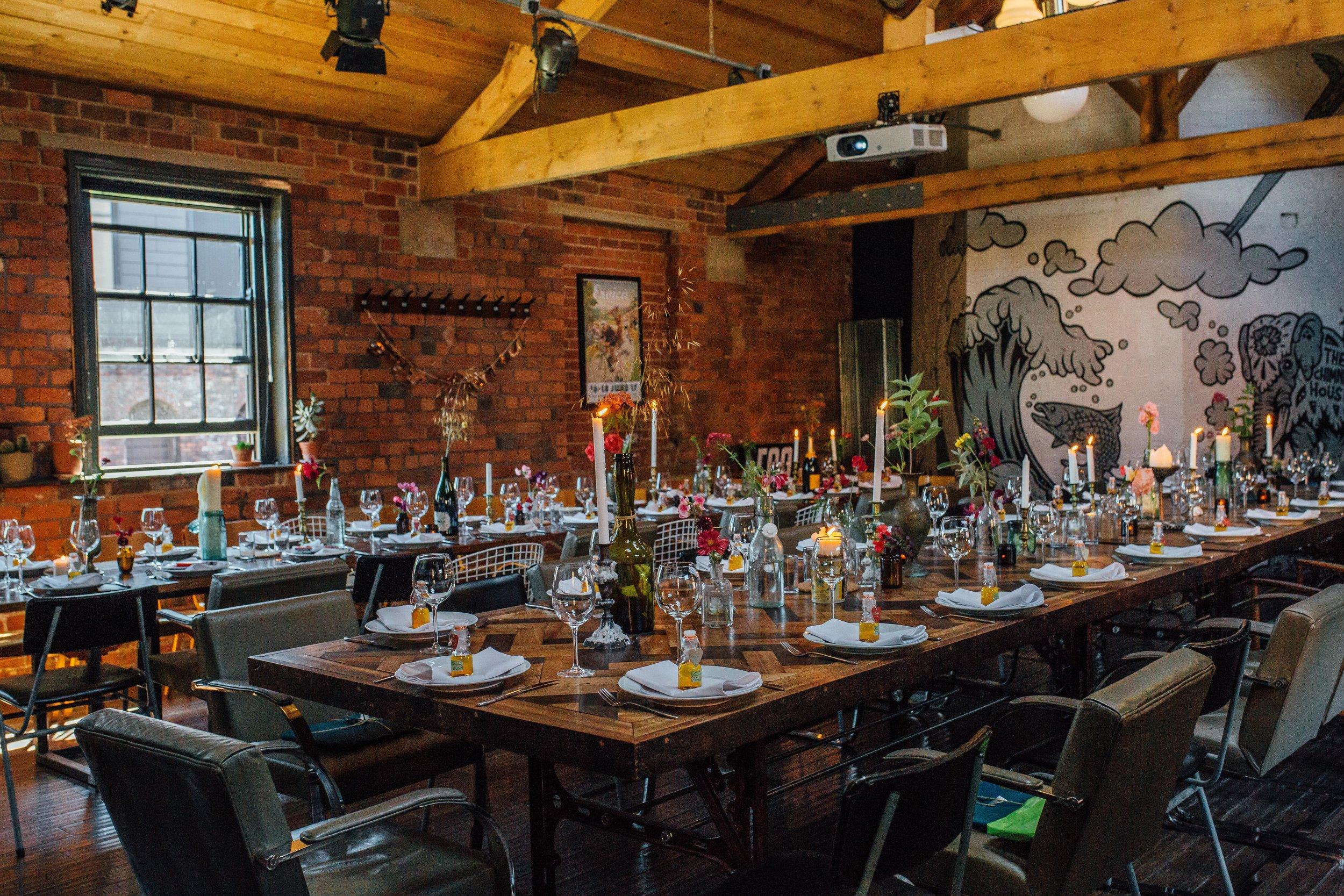 Fantastic Mr Fox Wedding Chimney House
