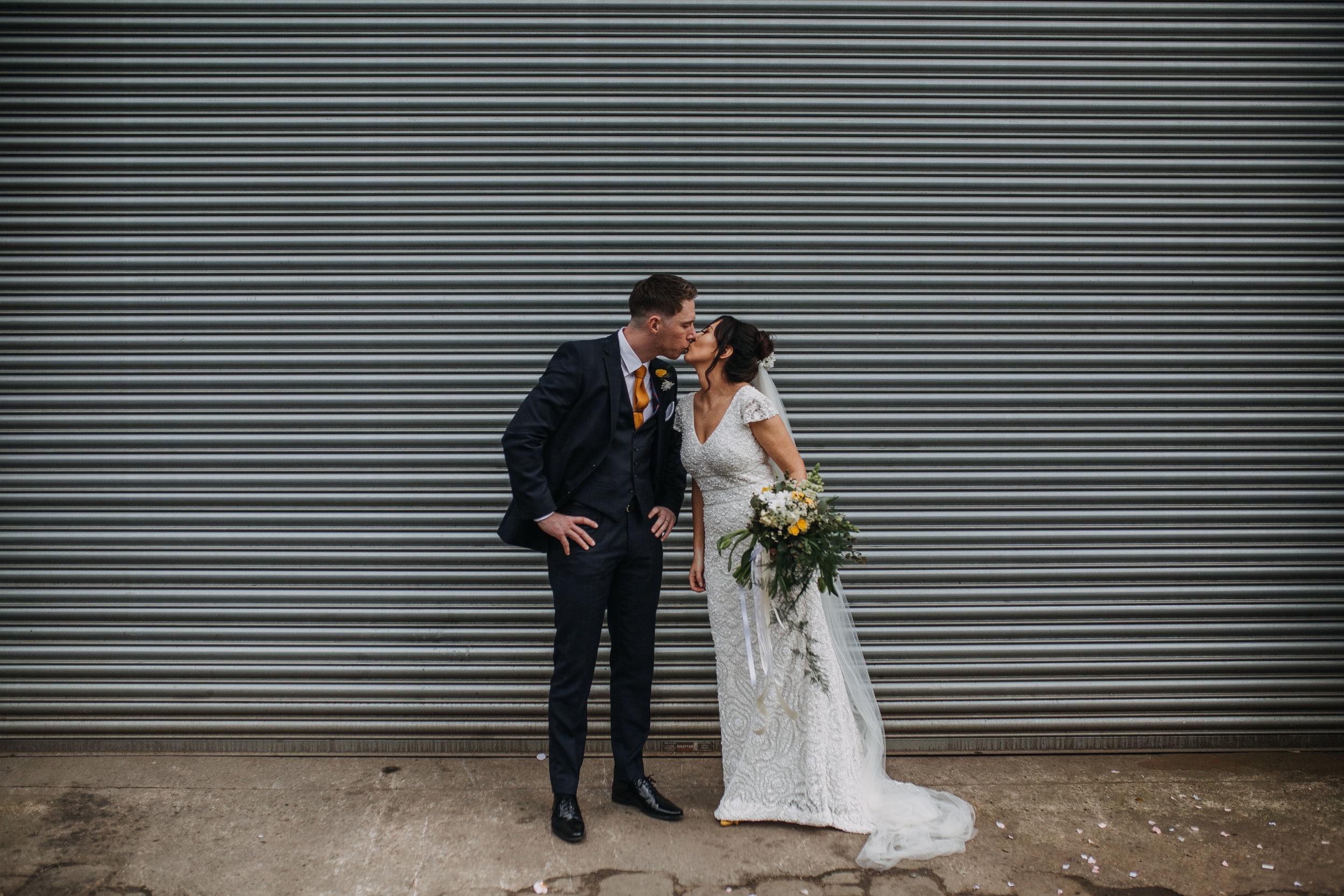 Urban Warehouse Wedding at 92 Burton Road