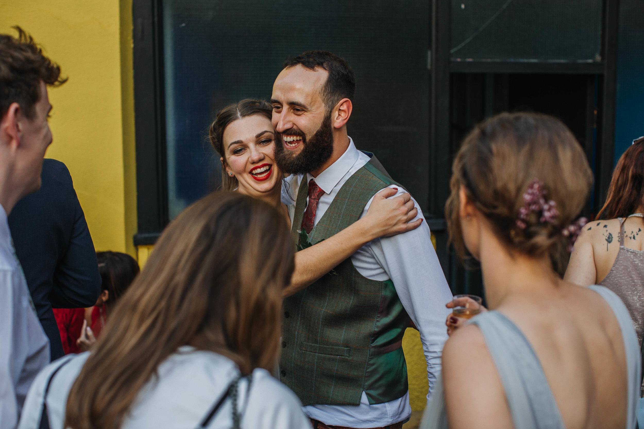 Urban Wedding at The Hide, Sheffield