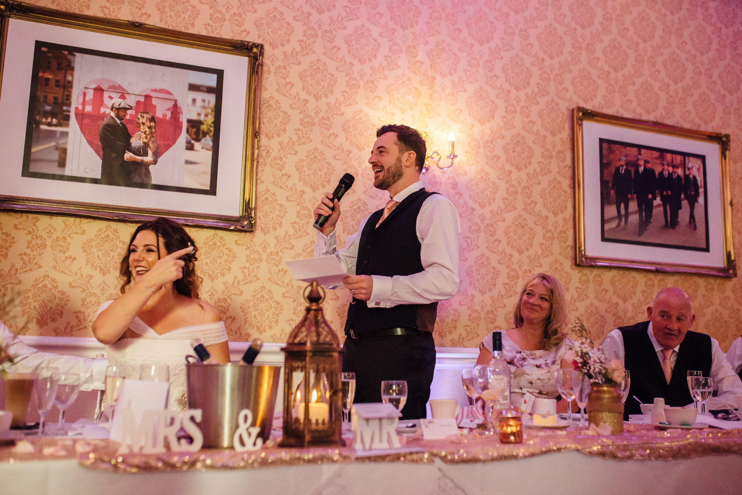 Shrigley Hall Wedding Cheshire