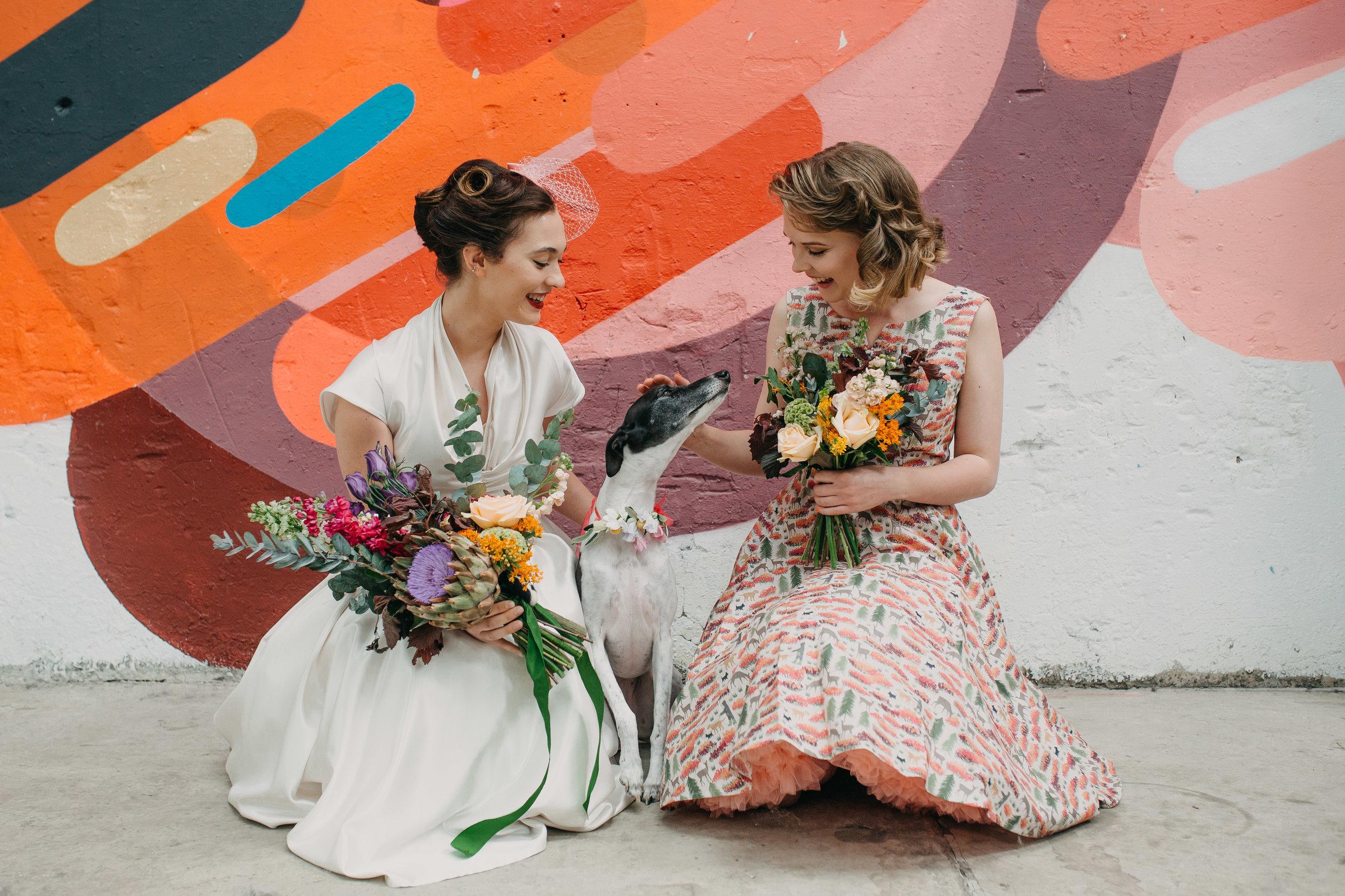 Sheffield Wedding Photographer Dogs at Weddings 92 Burton Road