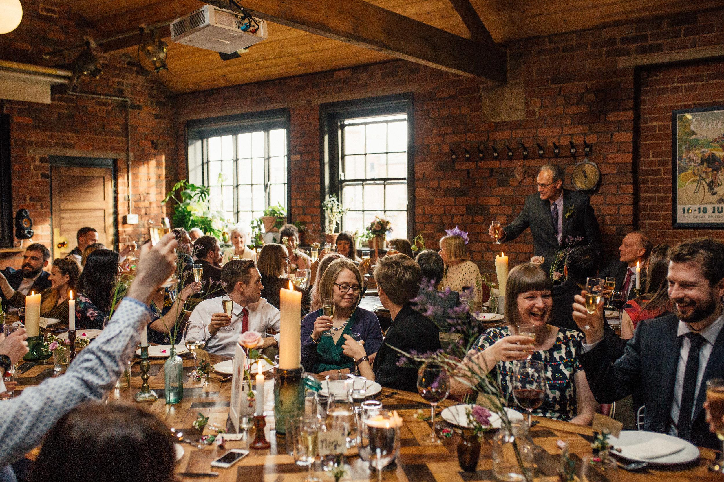 The Chimney House The Mowbray Kelham Island Sheffield Wedding Photographer
