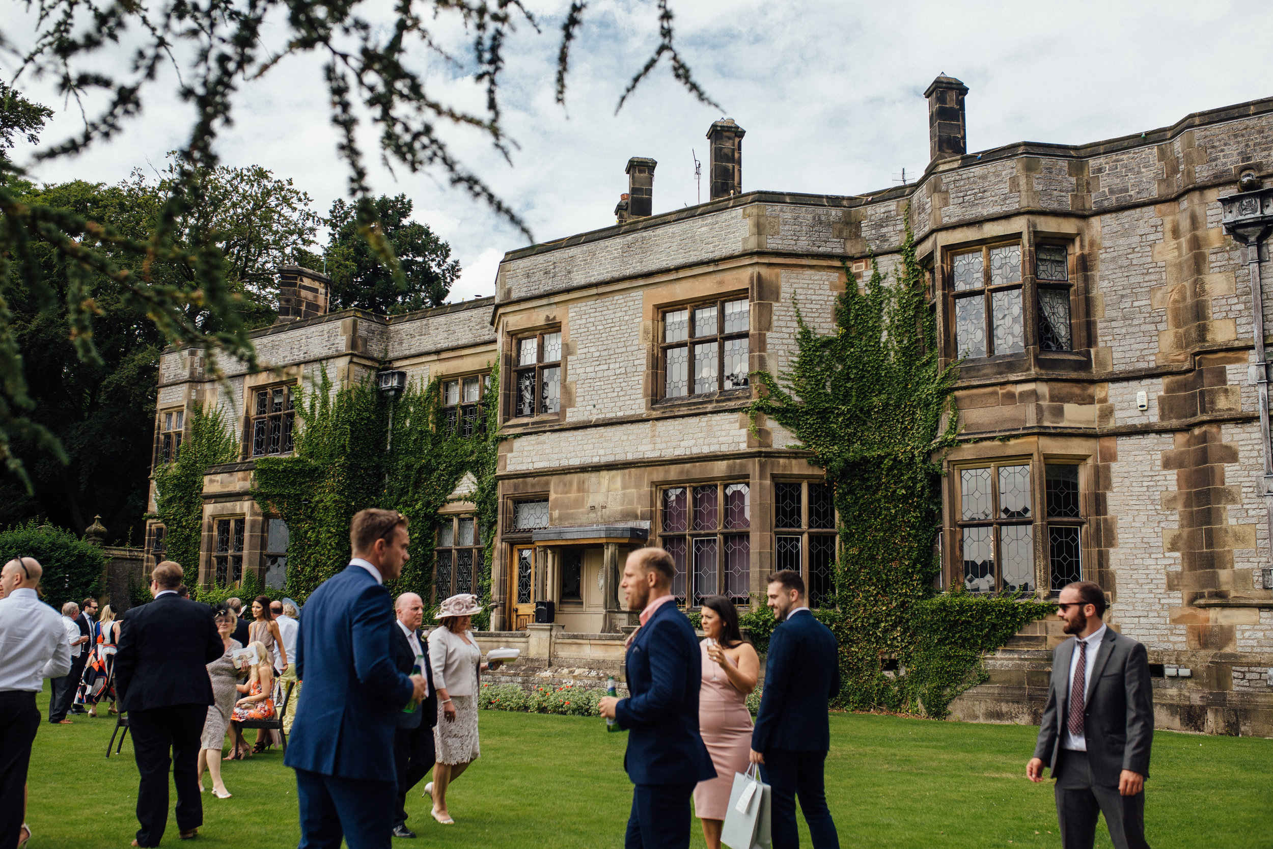 Thornbridge Hall Wedding Peak District Wedding Venue
