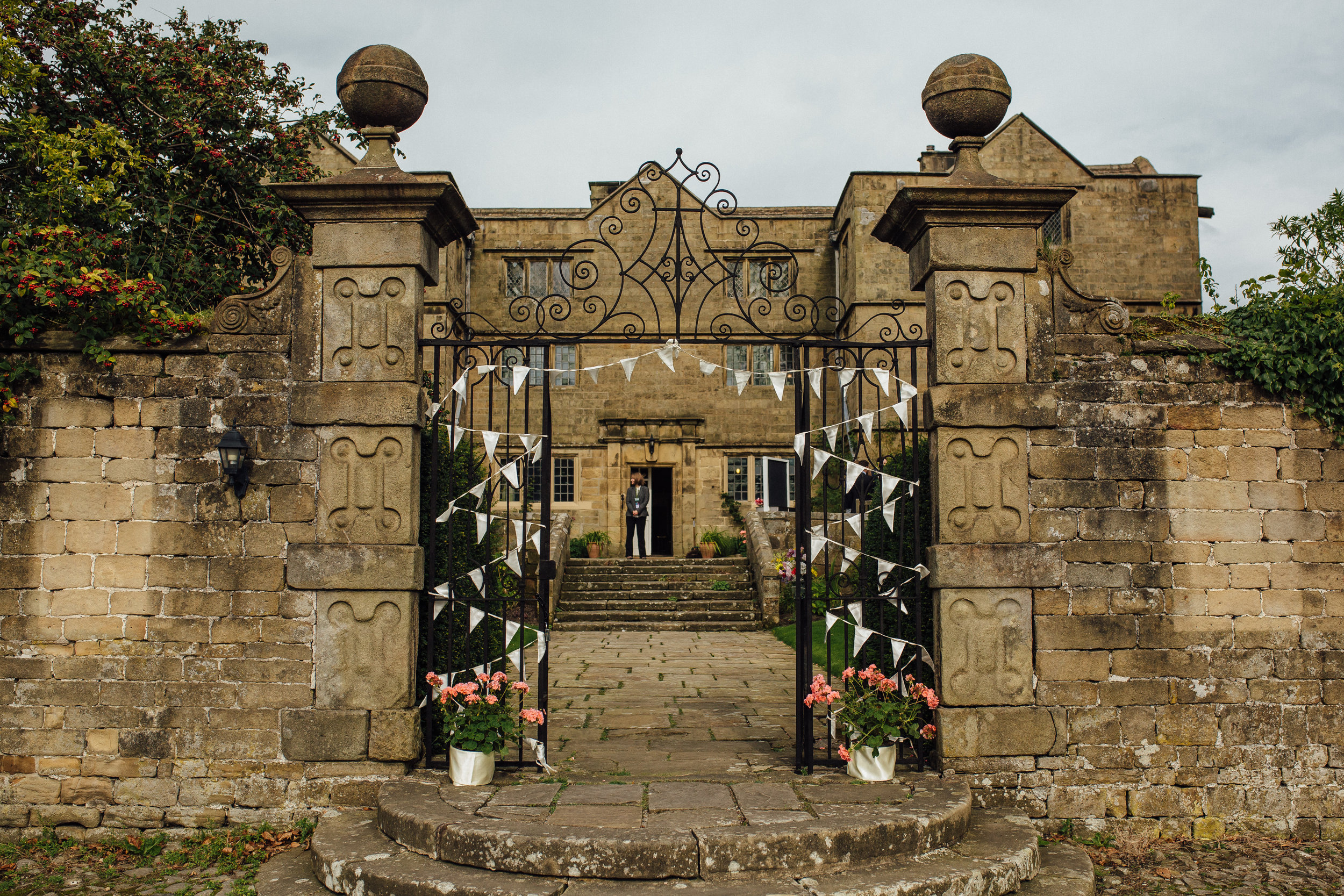 Eyam Hall Wedding Peak District Wedding Venue