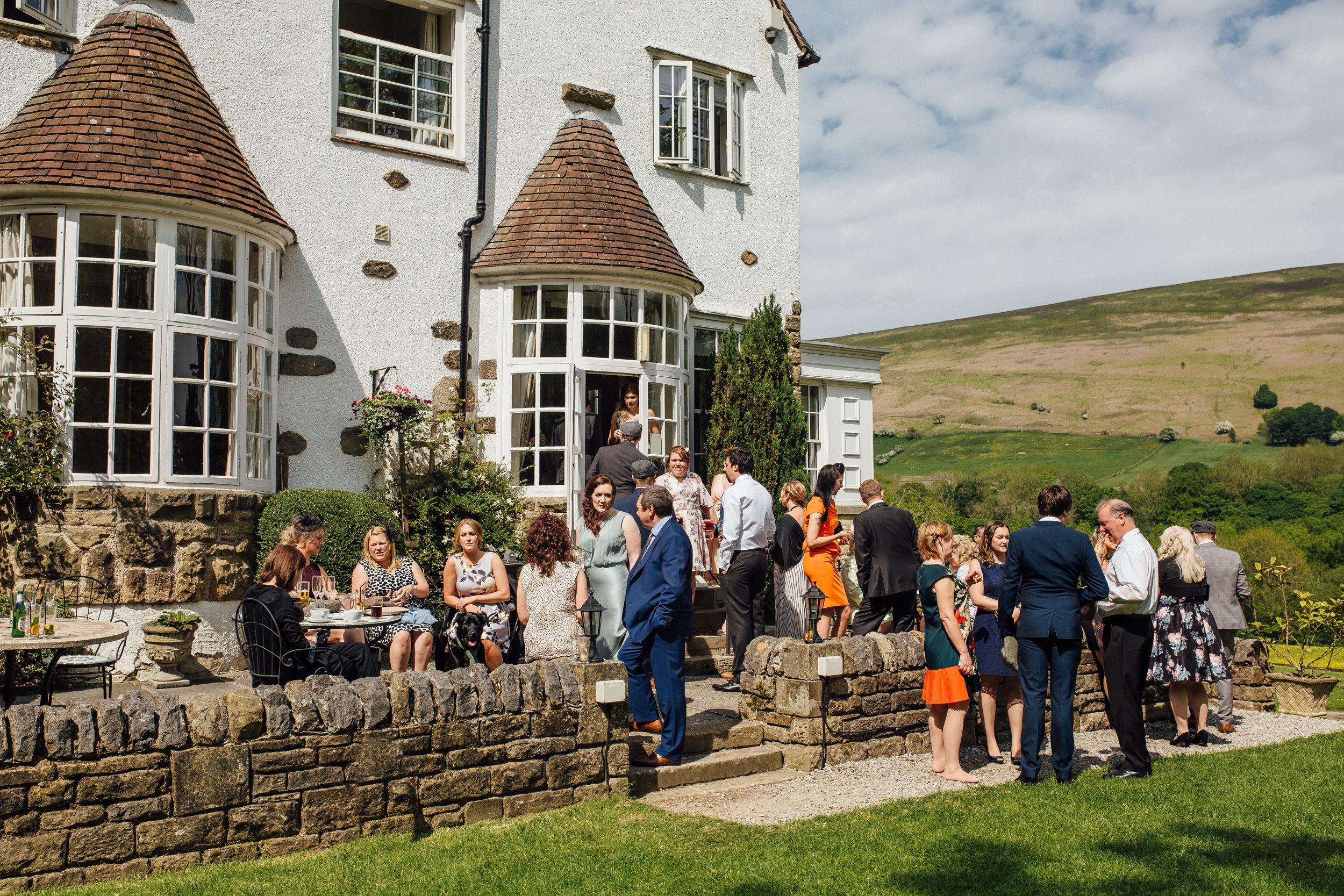 Losehill House Hotel Peak District Wedding Venue