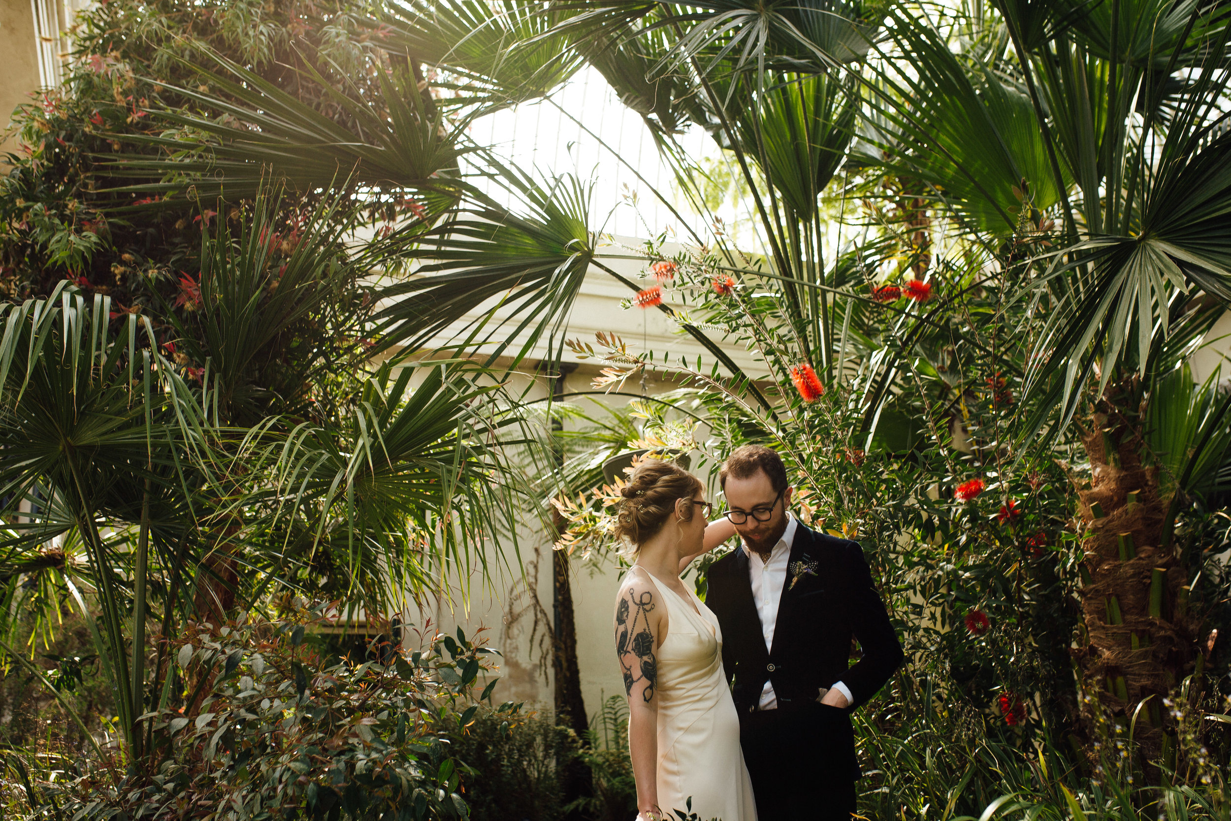 Sheffield Urban Warehouse Wedding The Holt Sheffield Botanical Gardens