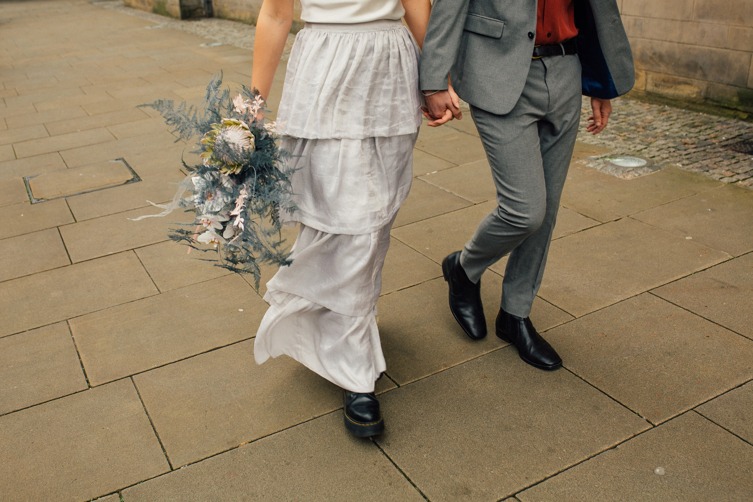 Small Intimate Sheffield Town Hall Public Wedding