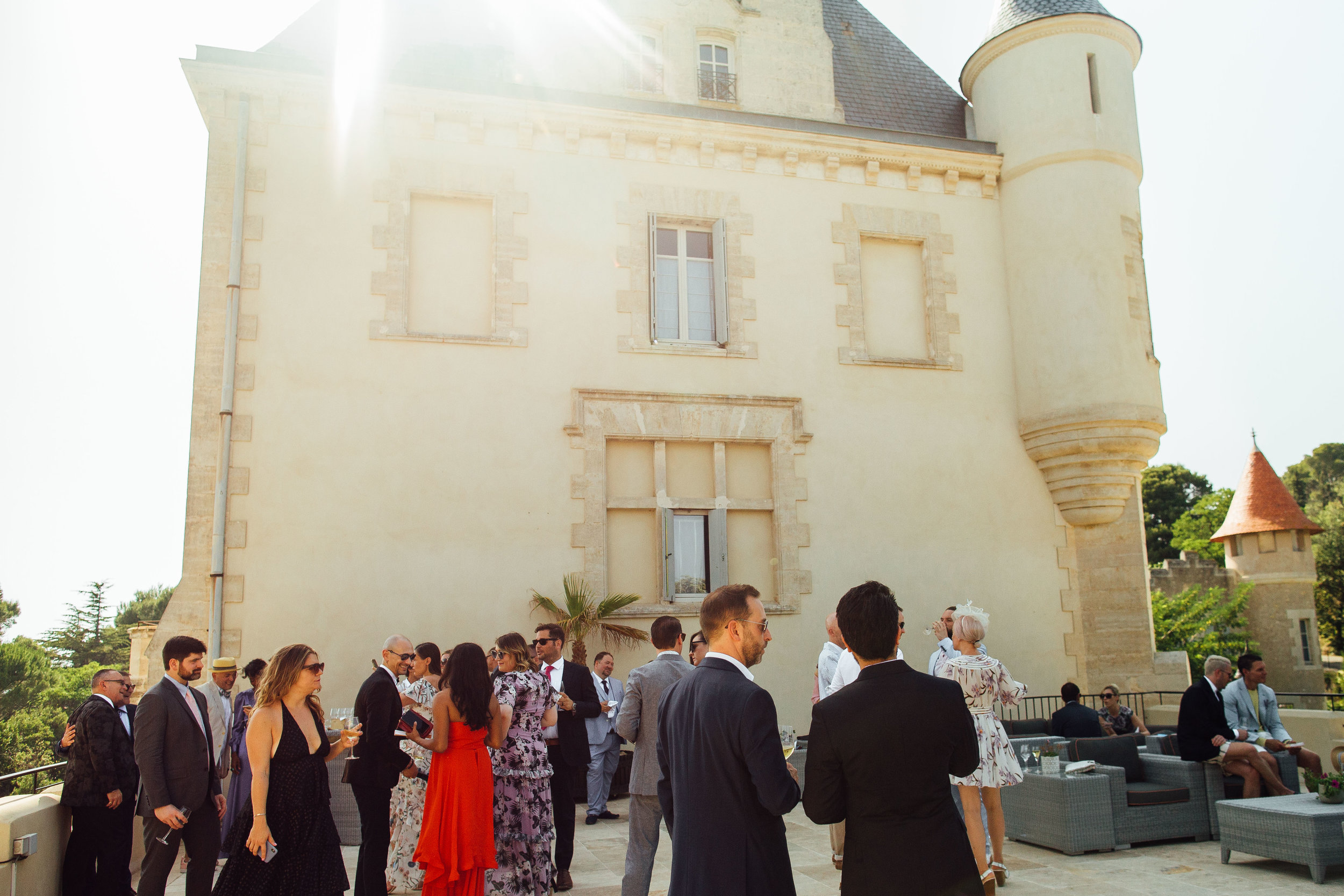 Chateau Les Carrasses Destination Wedding in South of France