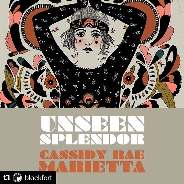 Join @blockfort in the @discoverydistrictcbus tonight (Friday, August 2nd) from 6pm-9pm!!!! Catch the opening reception of artist @cassidyraemarietta - her solo body of work titled 'Unseen Splendor' is on view throughout the month of August!!!!!!! 💯  Artist Cassidy Rae Marietta's intricate and detailed drawings are like emotional, dizzying dreams. Twisting, overlapping floral and design patterns overwhelm figures that seem indifferent to the chaos, instead transfixed by the spirits that surround them. Cassidy's works are simultaneously overwhelming and calming, evocative and absolved, all with a attention paid to quality and continuity that ties the work together like a great thread. #discoverydistrictcbus #columbusmakesart #artmakescolumbus #asseenincolumbus #columbusneighborhoods
