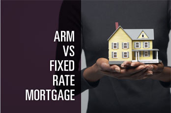 ARM vs Fixed-Rate Mortgage - A fixed rate mortgage has the same payment for the entire term of the loan. An adjustable rate mortgage (ARM) has a rate that can change, causing your monthly payment to increase or decrease. Use this calculator to compare a fixed rate mortgage to two types of ARMs, a Fully Amortizing ARM and an Interest Only ARM.