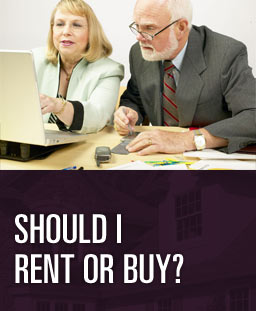 Should I Rent or Buy? - Should you rent or should you buy your home? It takes more than looking at your mortgage payment to answer this question. This calculator helps you weed through the fees, taxes and monthly payments to help you make a decision between these two options. This report is based on the original purchase price, fees and taxes payable at that time. Insurance and tax costs can fluctuate from year to year.