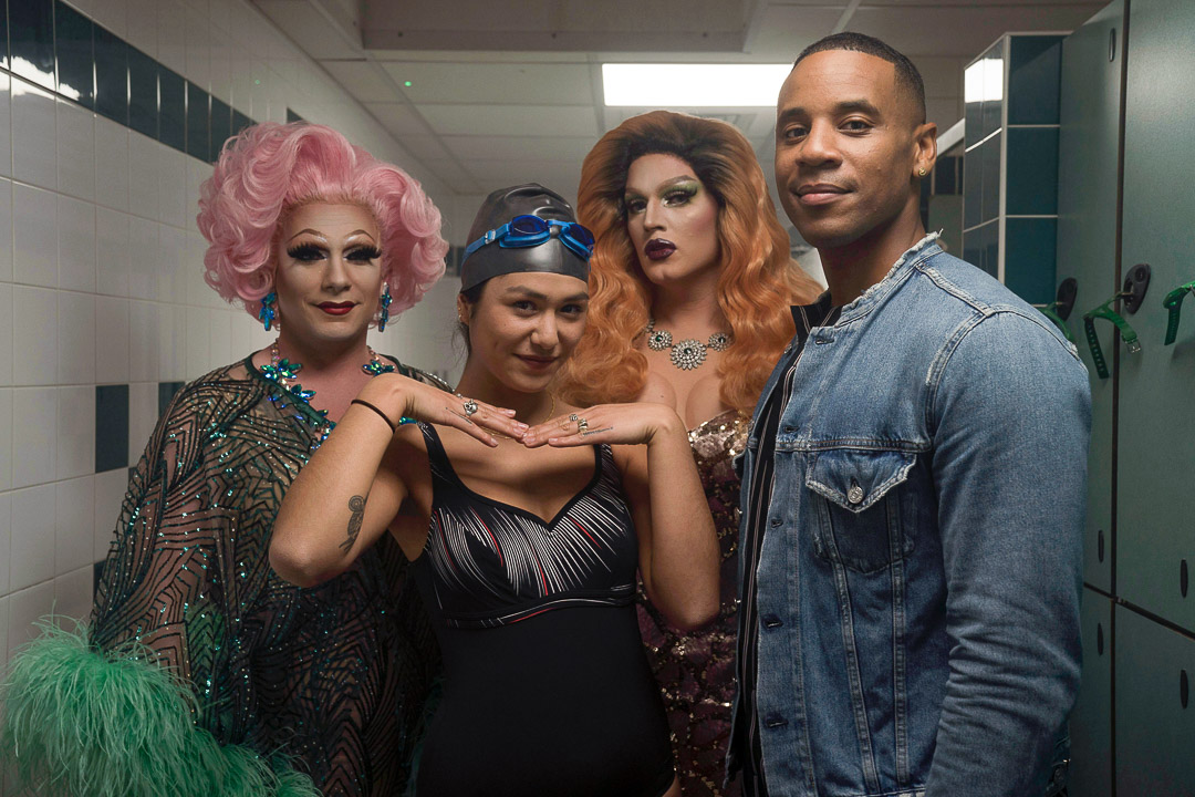 Mary Golds, Django Chan Reeves, Shae G'Day and Reggie Yates