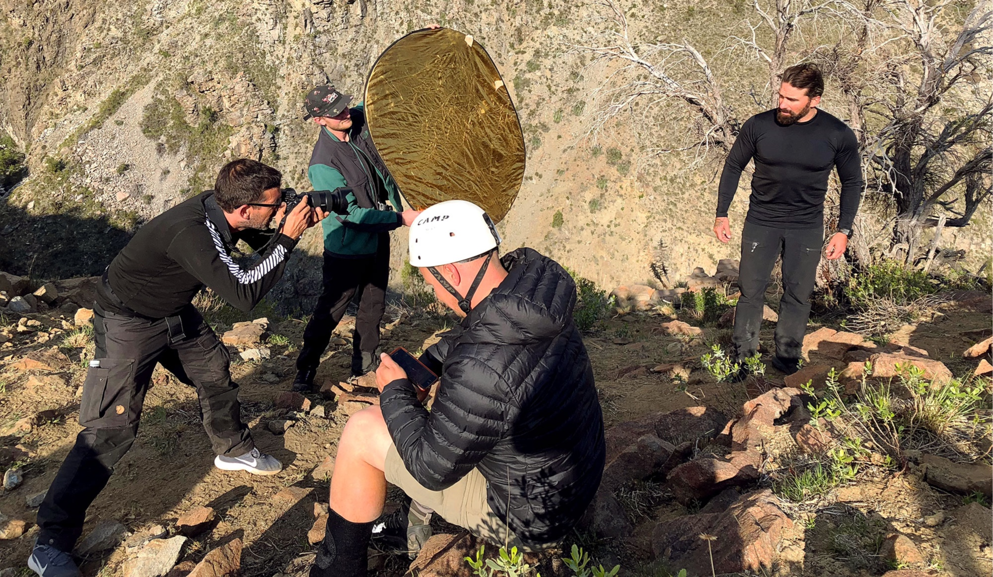 On location with Ant Middleton in Chile for SAS: Who Dares Wins.