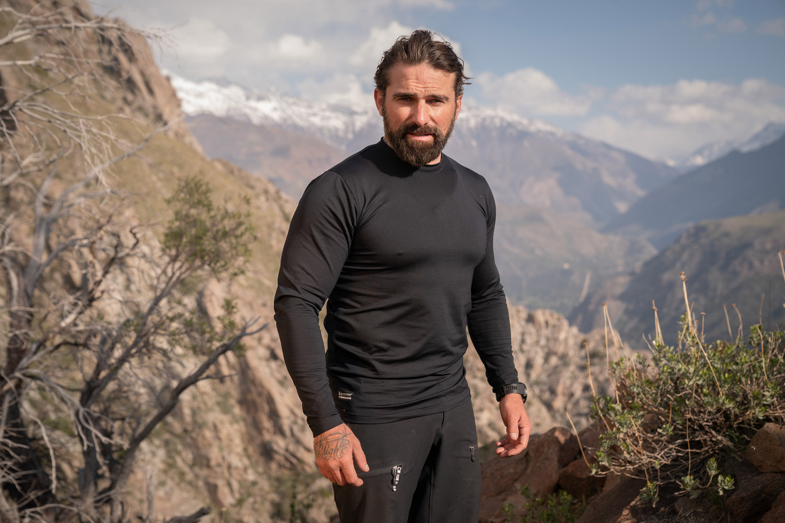 Chief Instructor Ant Middleton  Minnow Films / Channel 4