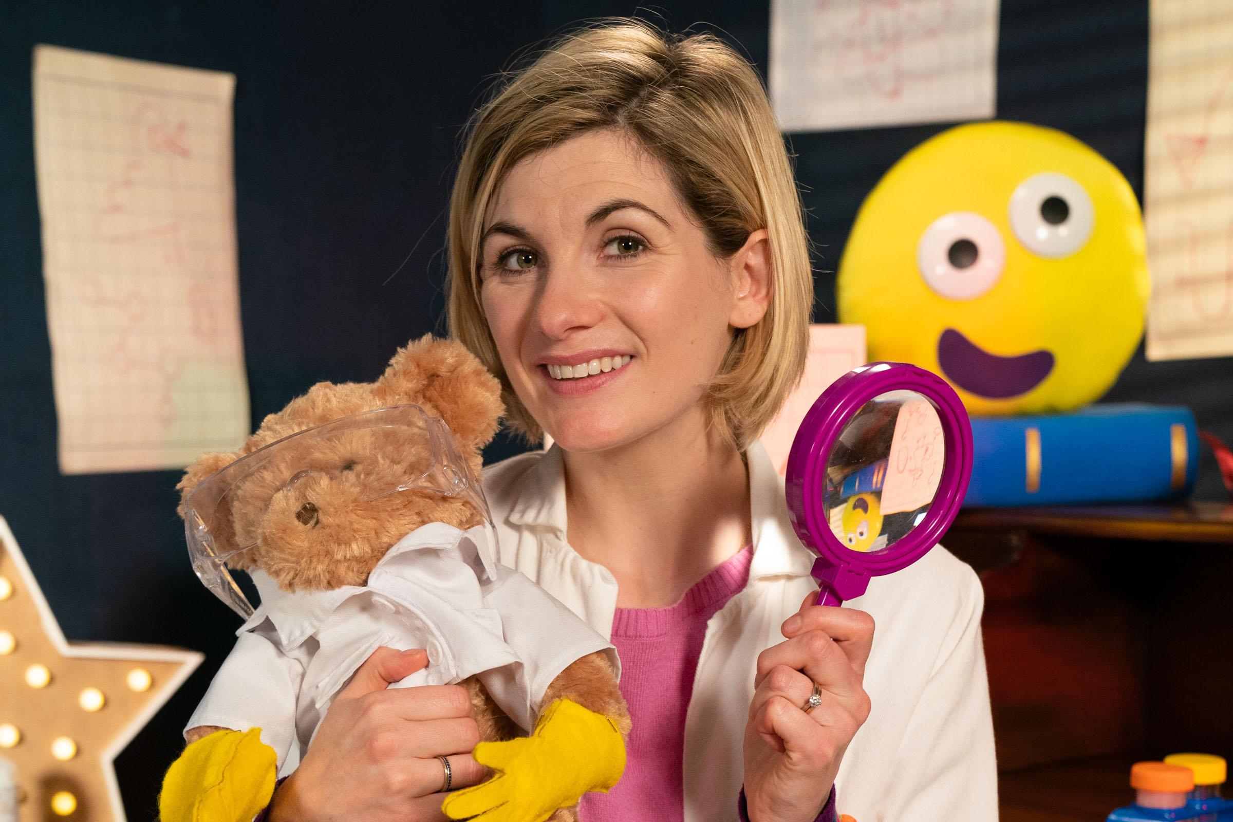 Jodie Whitaker  CBeebies / BBC