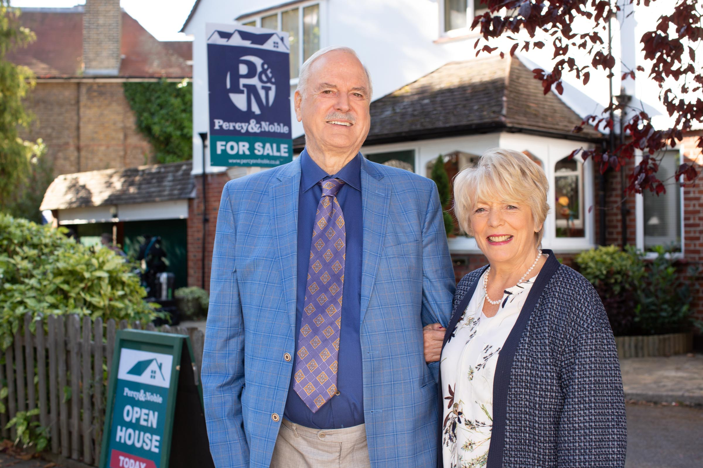 John Cleese as Phil and Alison Steadman as Edith  BBC One