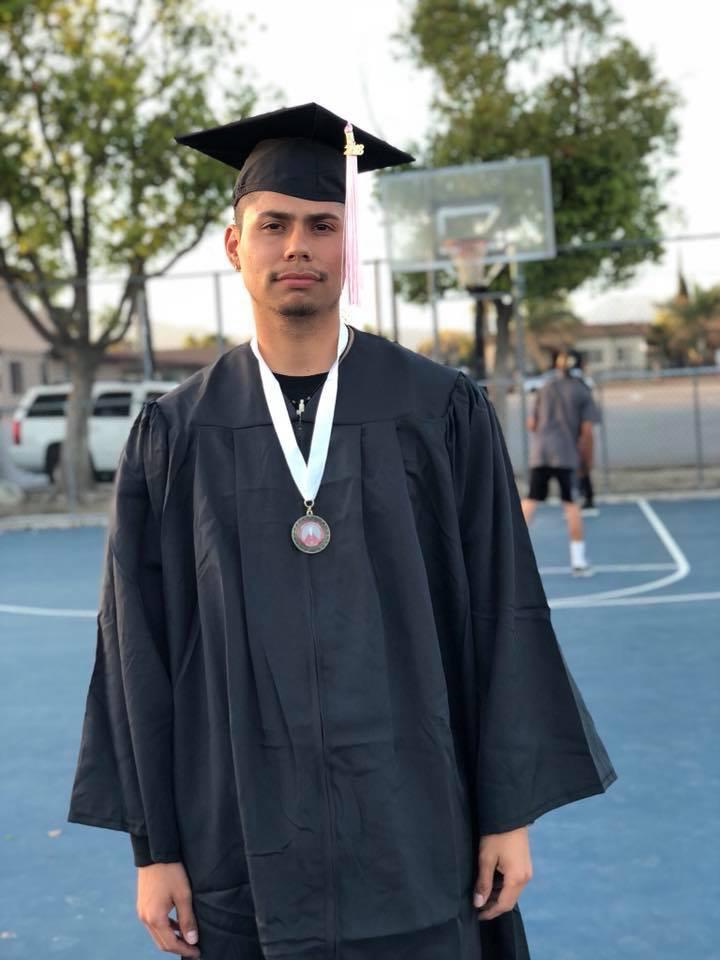 University of Redlands - Johnston Center graduation pictures at Veterans Park on April 17th, 2018