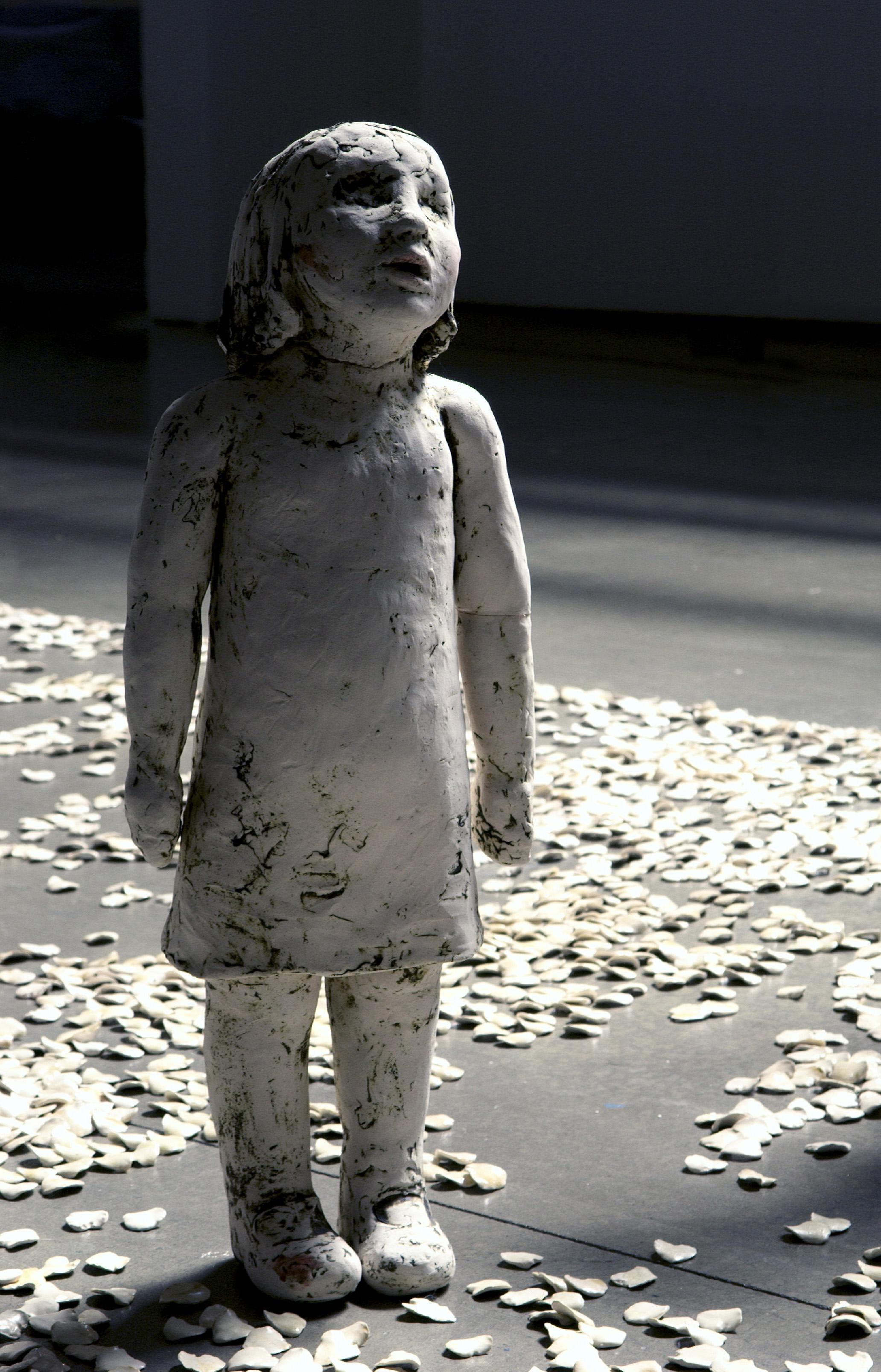 The Bruised Sky, 2005, Ceramic