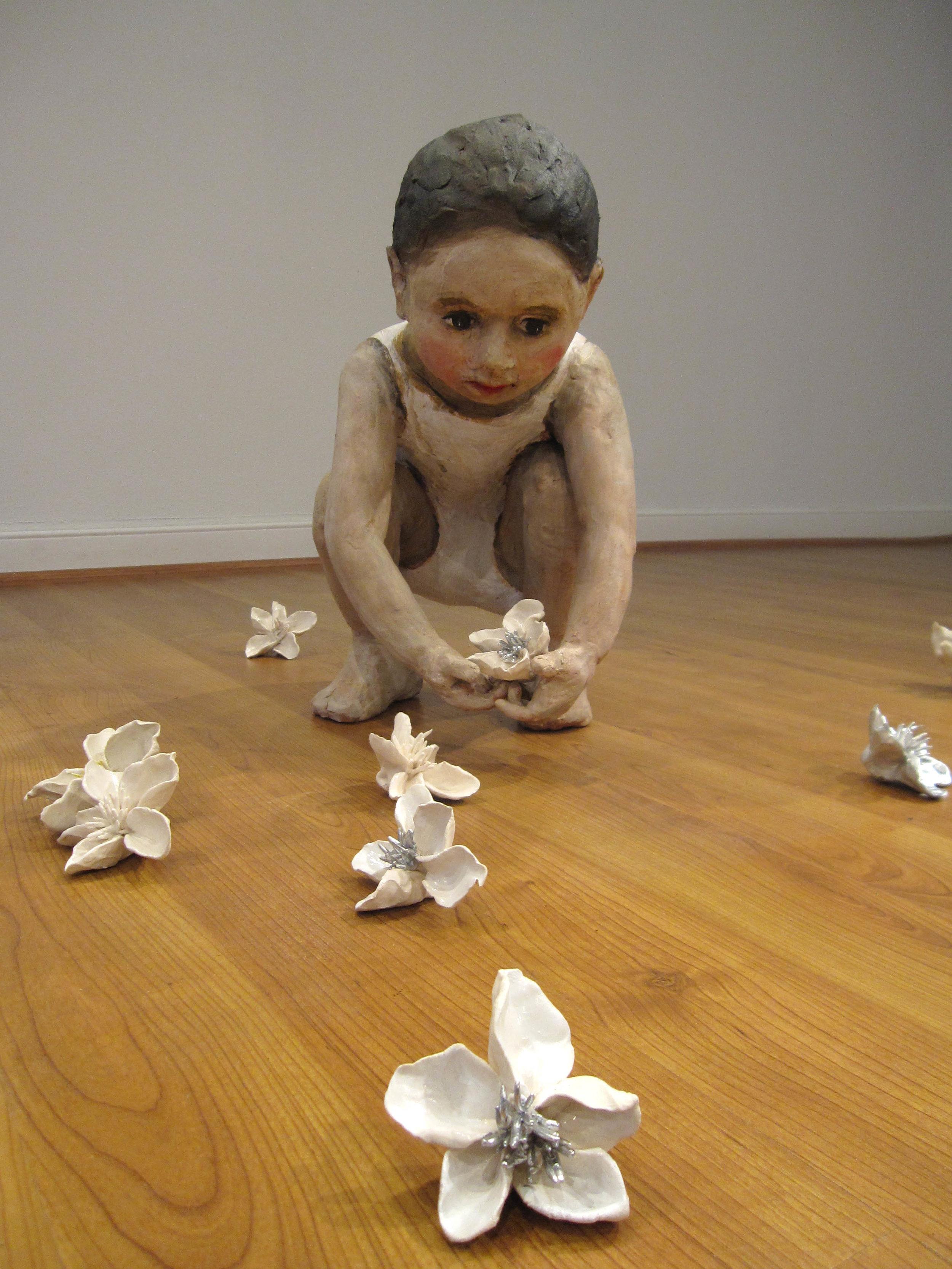 Flower Eaters, 2009, Ceramic