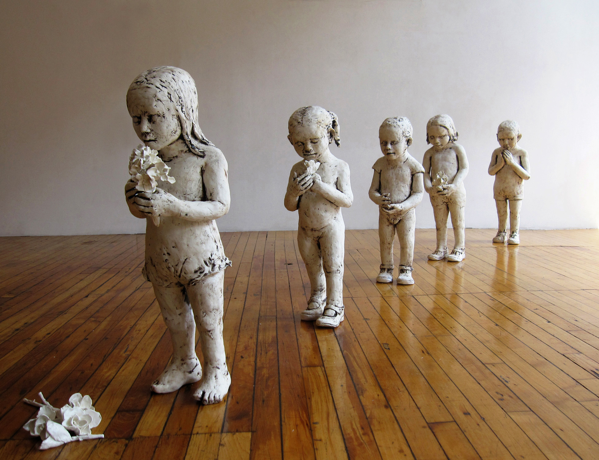 Dia de Los Inocentes, 2010, Ceramic, 32 in, x 10 ft. x 8 ft. National Museum of Mexican Art, Chicago, Illinois