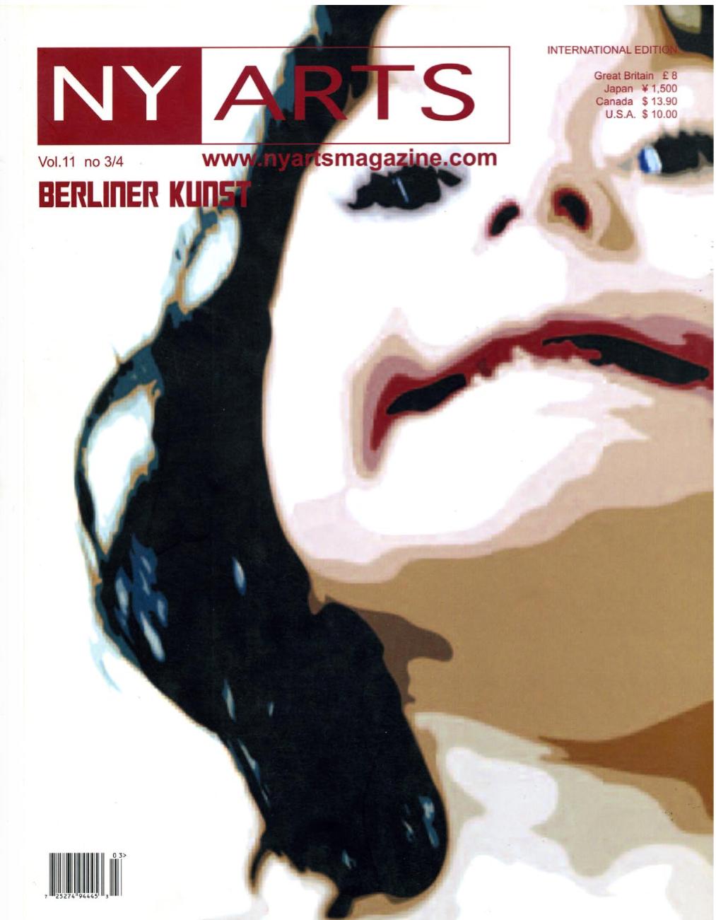 NY Arts Vol.11 by Berliner Kunst