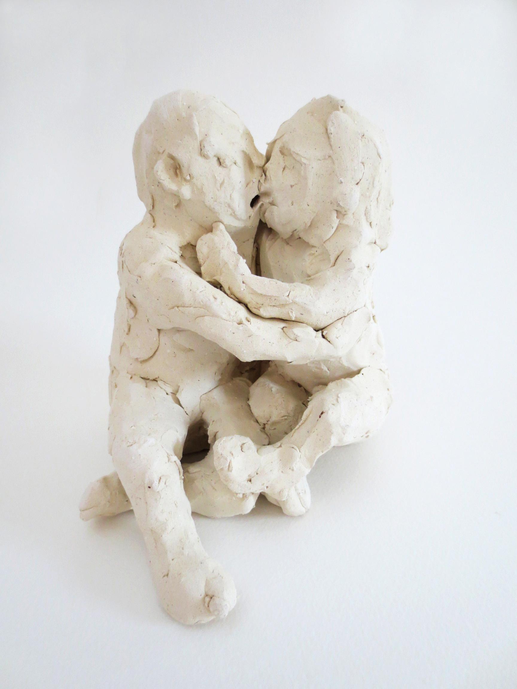 Enamoradors, 2014, Stoneware, 5 1/2 x 5 x 6 in.