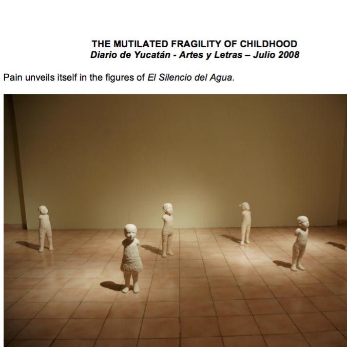 The Mutilated Fragility of Childhood by María Teresa Mézquita Méndez (Translated by Alberto Castro Carvajal)