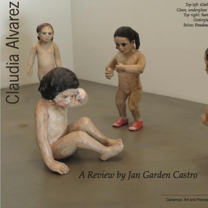 Claudia Alvarez at Scott White Contemporary Art by Jan Garden Castro