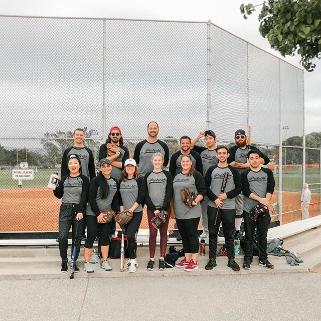 The Protecht softball team is 1-0. But the real victory is the camaraderie and communication we foster as a team in the office, translated flawlessly on the field. #protechtwhatmatters #bestplacetowork