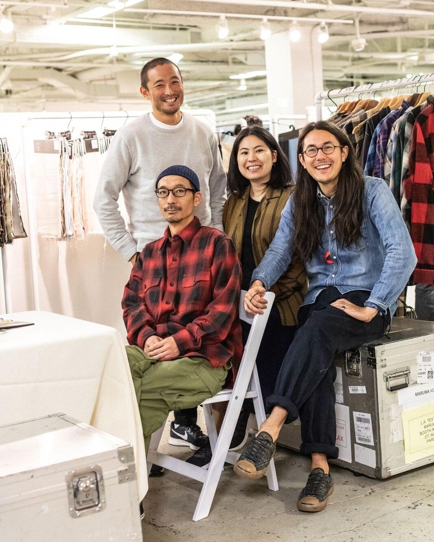 LA Textile Exhibitor Maruwa Japan