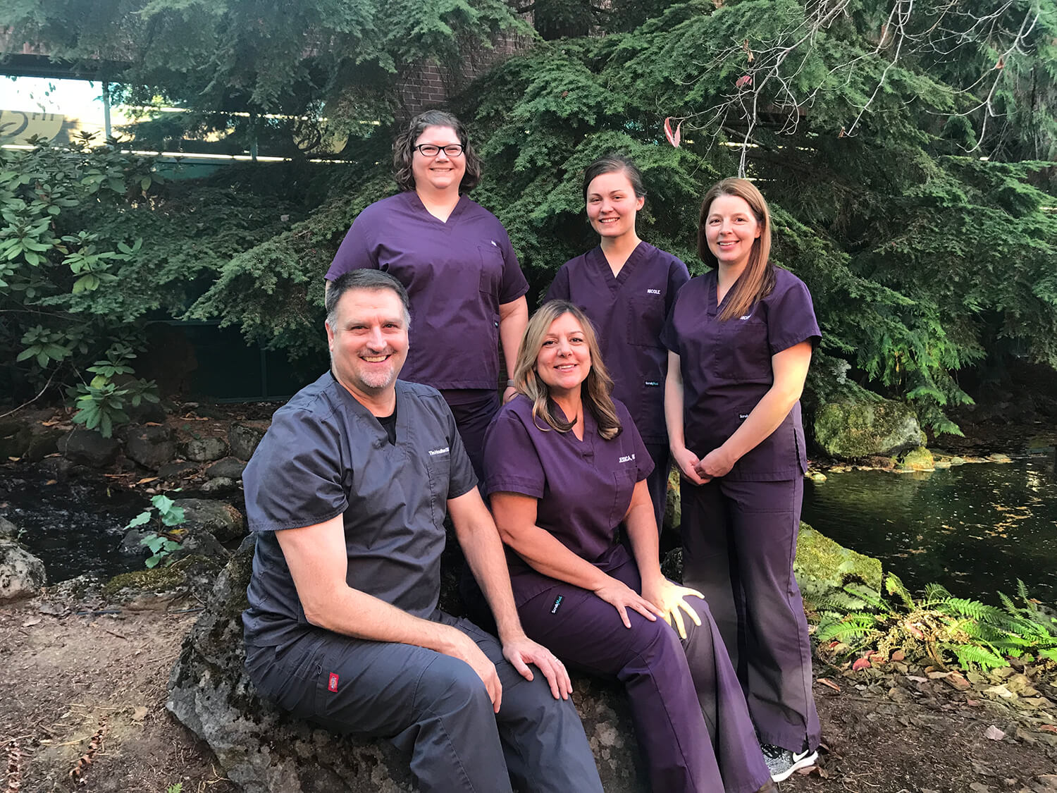 Dr. Houlihan and his team at Dental Professionals are ready to help you smile with confidence.