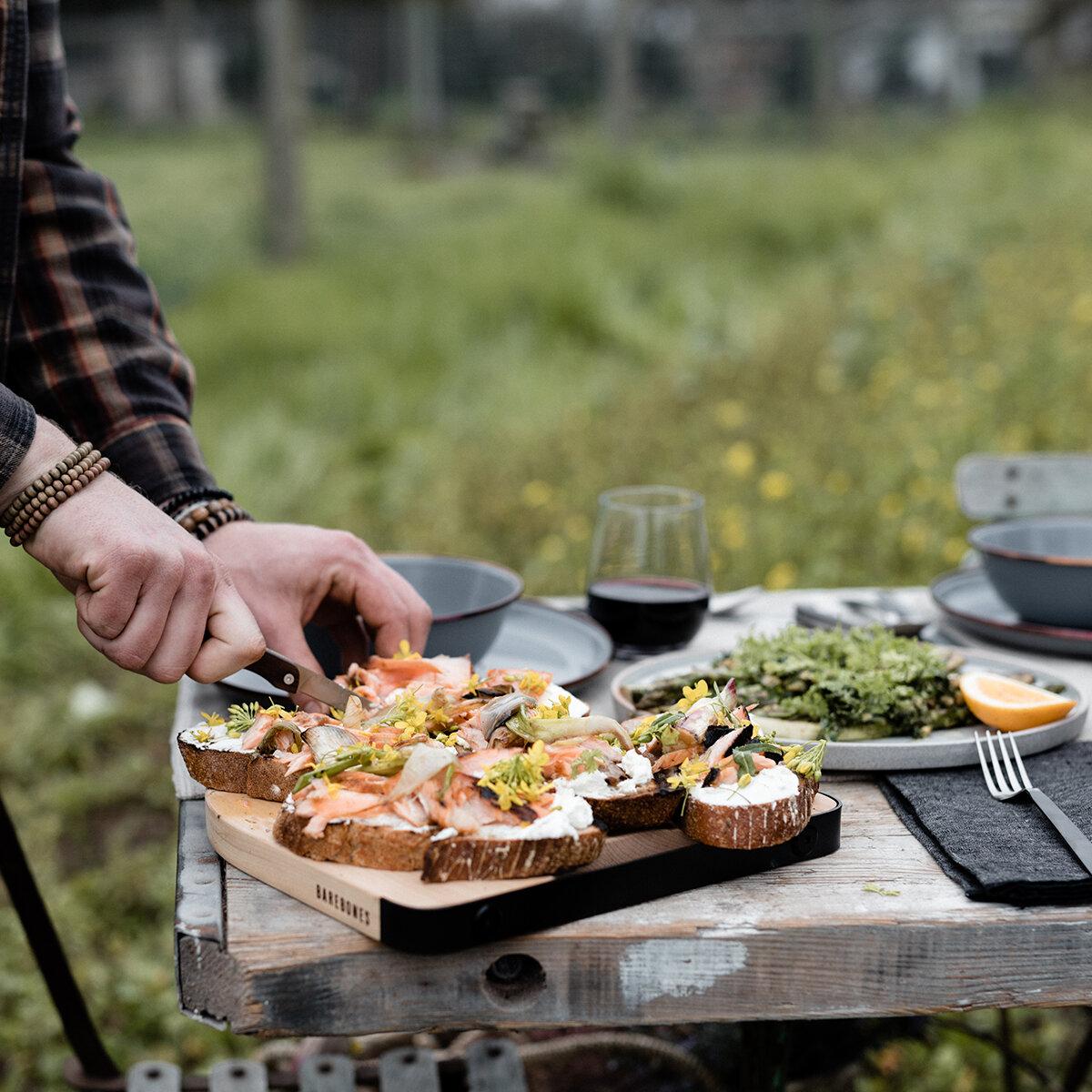 Maple Cutting and Serving Board - Maker: Barebones Living
