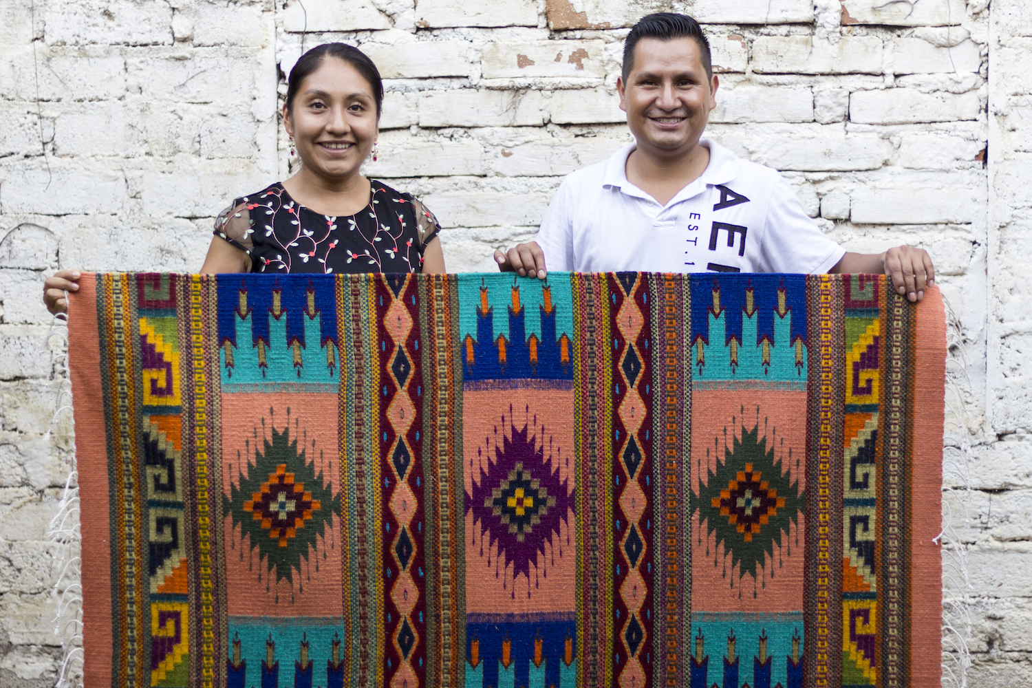 Rolando & Naty   Handwoven Oaxacan rugs, tapestries, and other home decor