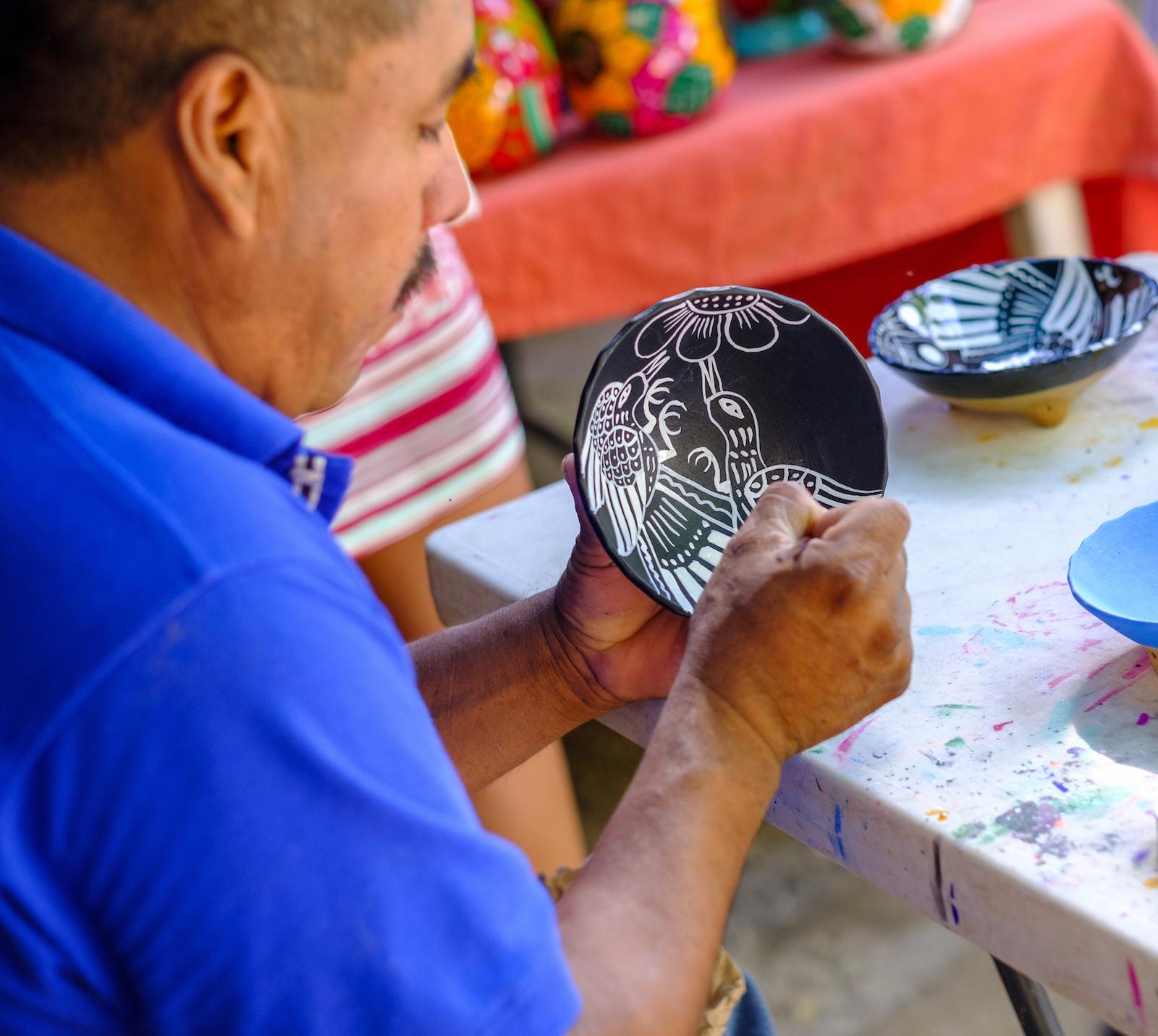 Francisco; partner; handicraft